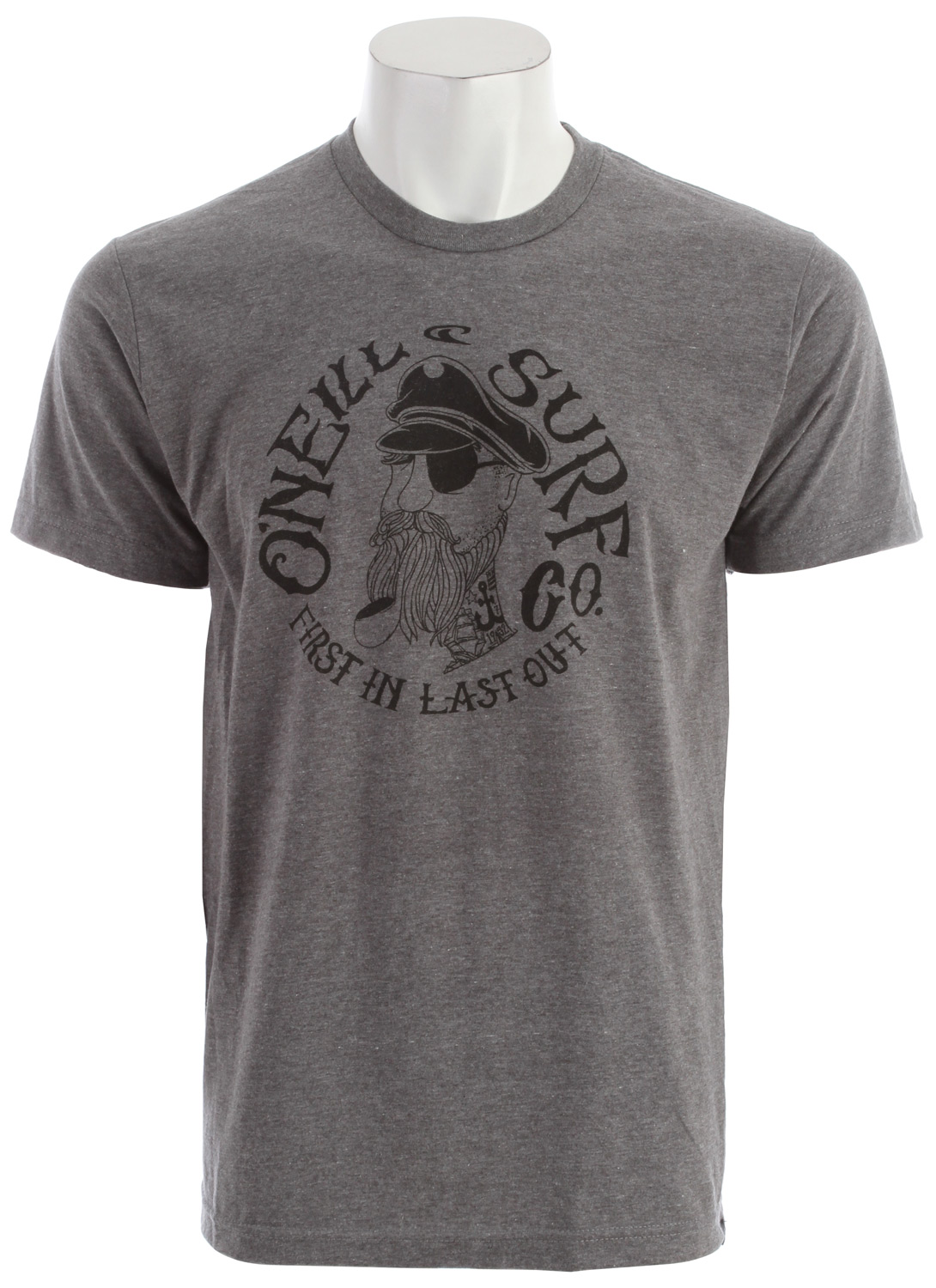 Surf Key Features of the O'Neill Sink Ship T-Shirt: 50% Cotton / 50% Poly 30 Singles Modern Fit Heather Tee Softhand Screenprint Attached hem label - $16.95