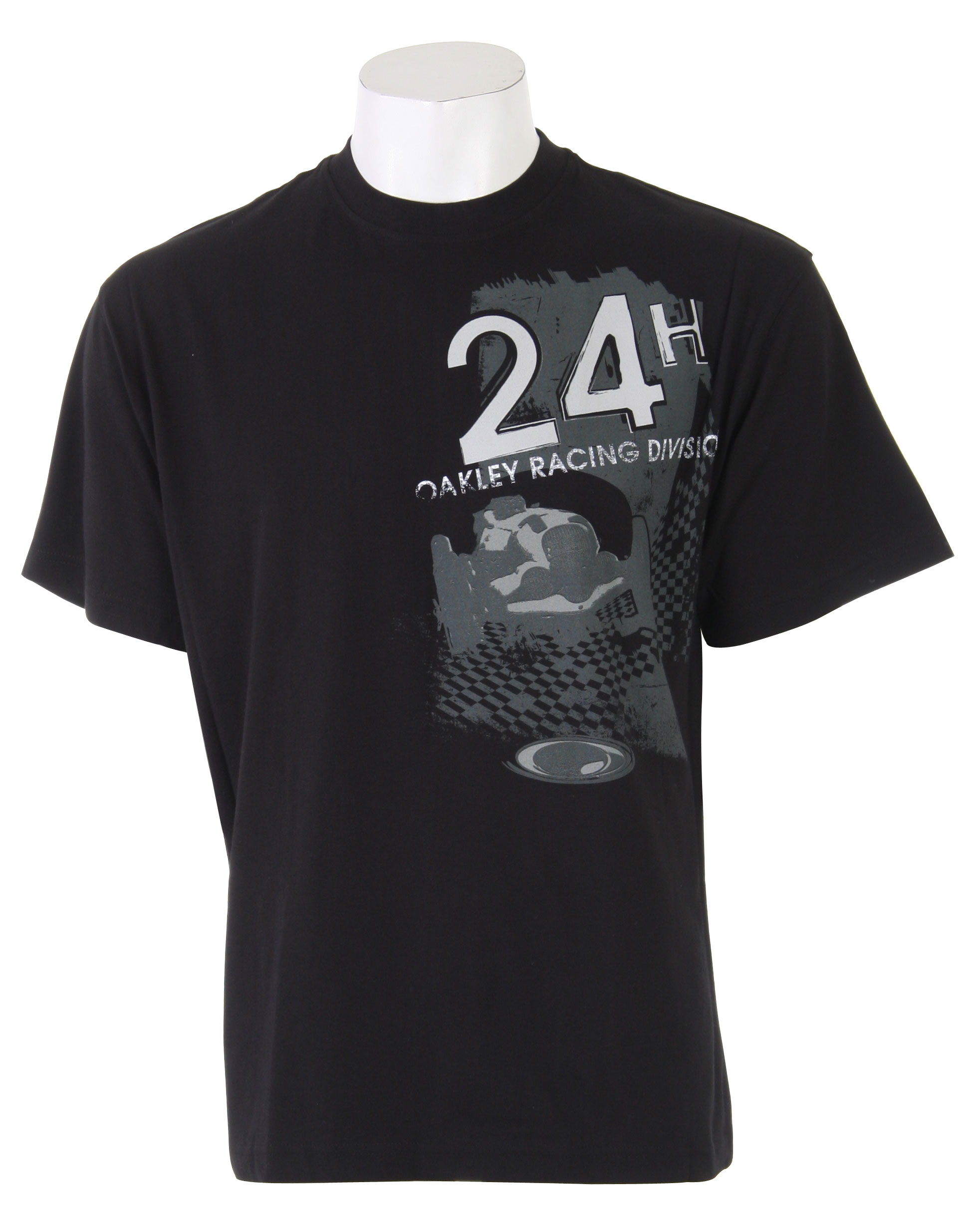 Key Features of The Oakley Retro Finish T-Shirt: Regular Fit Crew Neck Short Sleeve - $9.95