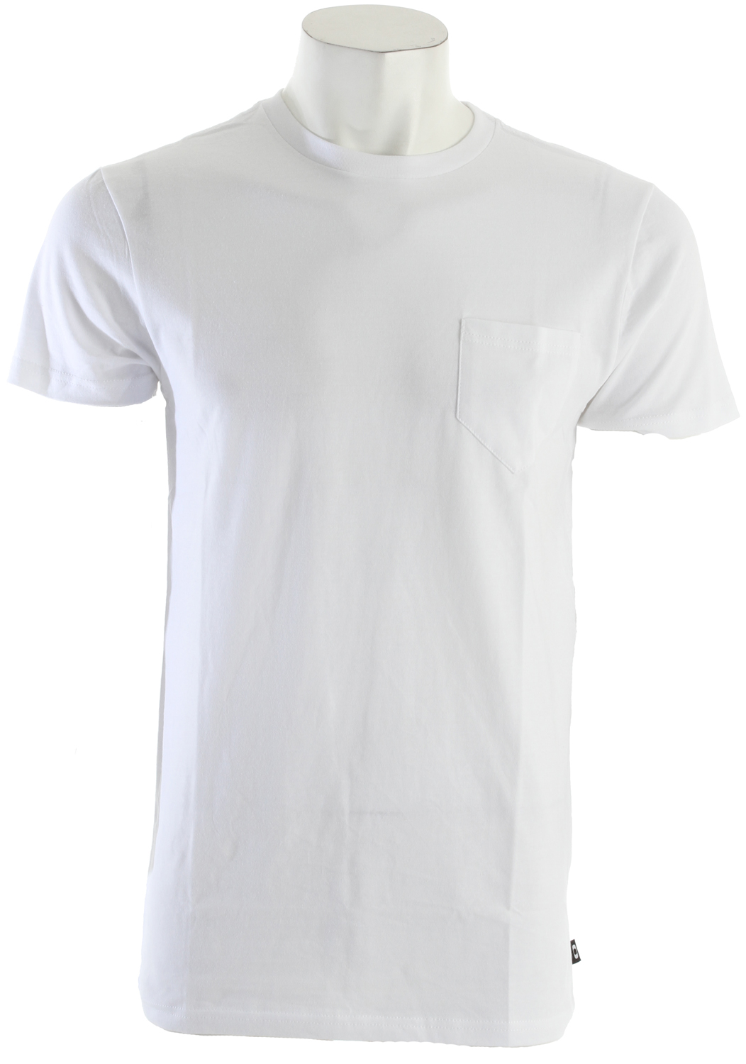 Key Features of the Oakley Pocket T-Shirt: Basic Tee Chest Pocket Side seam flag 100% Cotton Hybrid fit - $11.95
