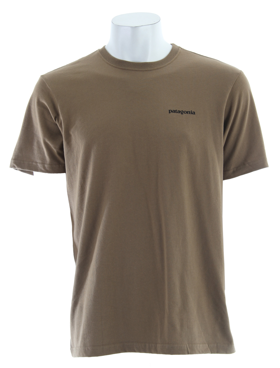 A classic design sporting the traditional Patagonia logo, the P-6 Logo T-Shirt embodies our heritage. The tee is made of our standard-weight 5.4-oz 100% organic cotton that is ringspun for softness. Taped shoulder seams and double stitching at sleeves and hem lend durability; coverstitched at neck and armholes for a clean finish.Key Features of the Patagonia P-6 Logo T-Shirt: Screen-print inks are PVC- and phthalate-free Taped shoulder seams for comfort 5.4-oz 100% organic cotton 196 g (6.9 oz) Made in USA. Organic cotton is produced using techniques that are healthy and safe for the environment and the people who work and live near the fields where it's grown. Organic cotton is never grown with synthetic chemical fertilizers, pesticides, herbicides or defoliants, nor is it genetically modified in any way. At Patagonia we seek to build the best product and cause no unnecessary harm. That's our mission statement, and it takes many forms. As it applies to making products, we work hard to source materials and use processes that are less harmful to the Earth without compromising quality. Because to us, quality is not only how well a product performs and holds up, but also how it's made. - $23.95
