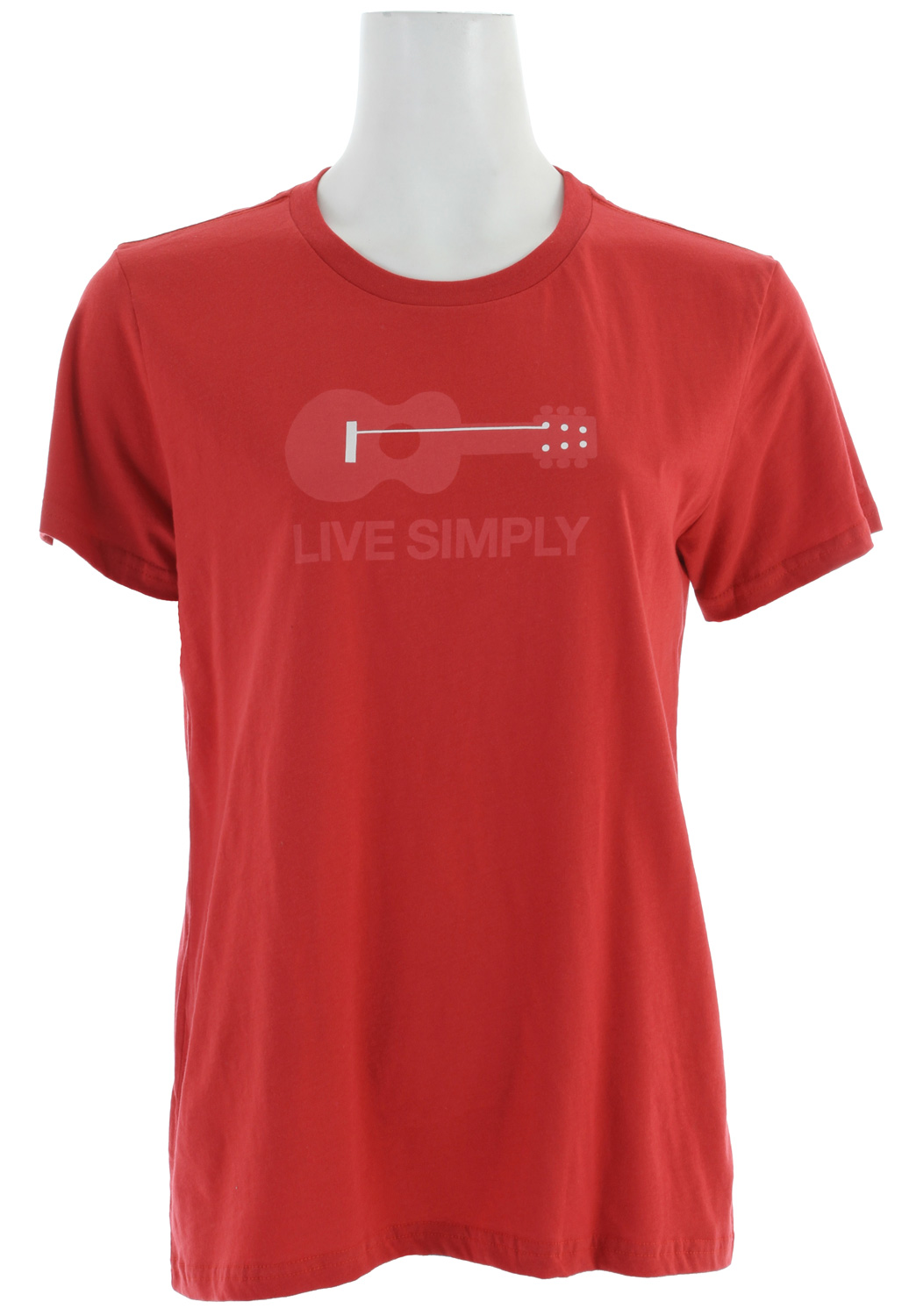 TWANG! Just live simply, that's all we're saying. Original art by Geoff McFetridge on a 100% organic cotton tee. fabric: 4-oz 100% organic cottonKey Features of the Patagonia Live Simply Guitar T-Shirt: Screen-print inks are PVC- and phthalate-free Taped shoulder seams for comfort Super soft, 40 singles 100% organic cotton jersey Classic Boy Fit - $24.95