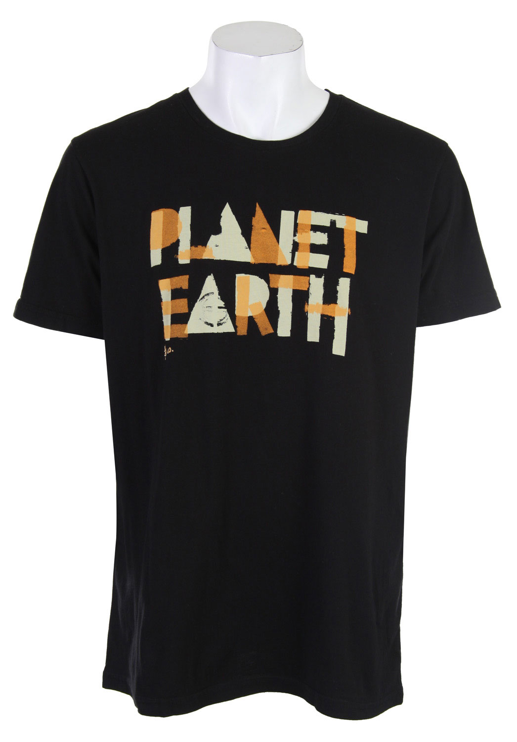"This Planet Earth Harrison T-Shirt looks cool, with it's ""Planet Earth"" logo, framed in 100% Organic Cotton, but the real 'cool' thing is that each and every one of Planet Earth's designs and products are eco-friendly. By wearing this shirt you not only look great, but support a great cause. Planet Earth is bent on making sure that each and every product is hot and comfortable, and good for the planet. Now THAT is sexy.Key Features of the Planet Earth Harrison T-Shirt Black:  100% Organic Cotton - $13.95"