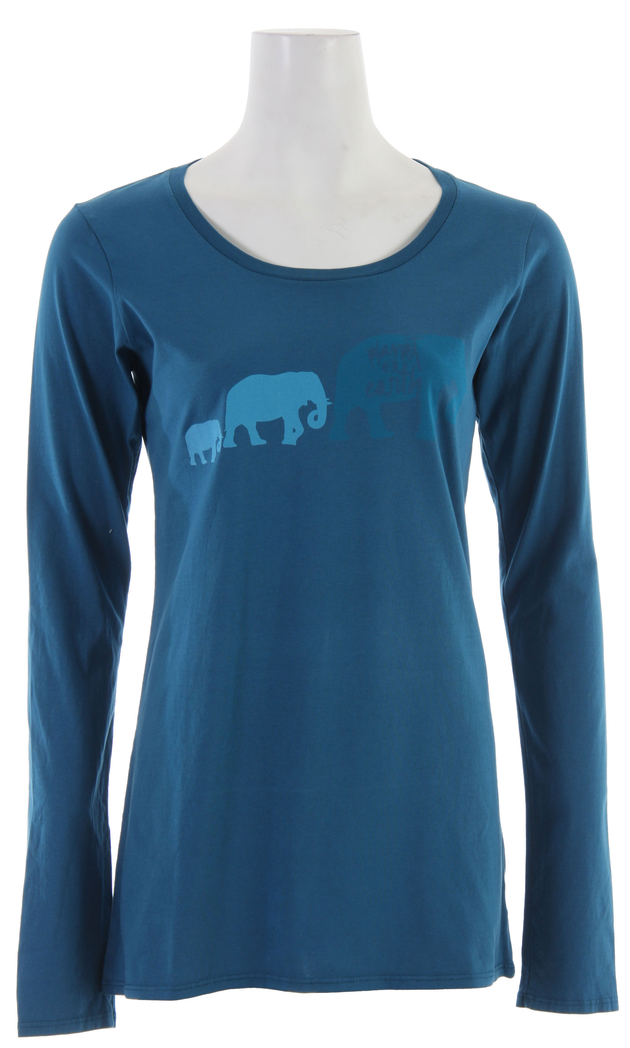 The Planet Earth Elie L/S T-Shirts are 51% organic cotton blended with 49% virgin cotton and embellished with formaldehyde-free inks and dyes for an environmentally friendly finished product. - $10.95