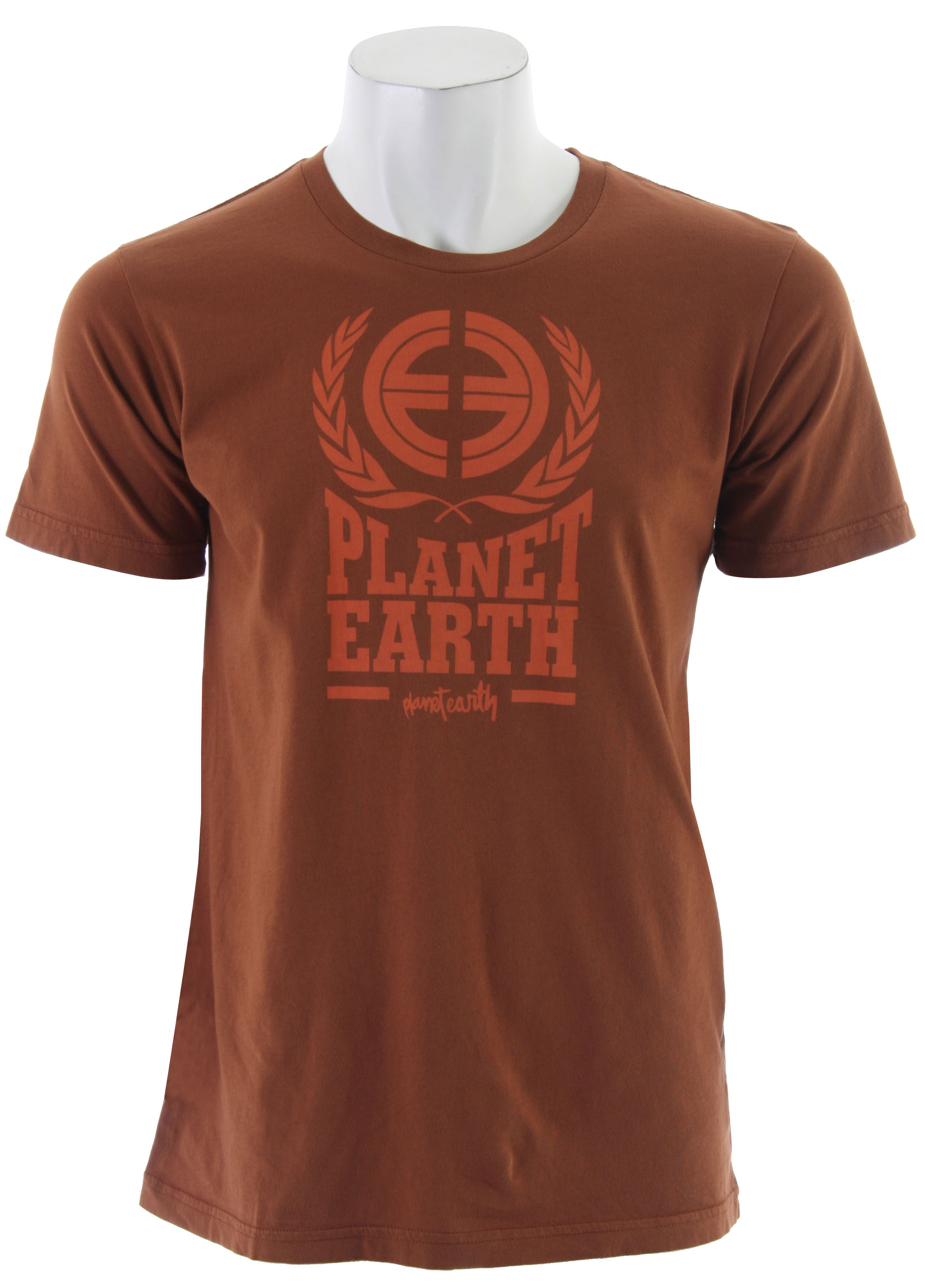 Key Features of The Planet Earth Logo S/S T-Shirt: Regular Fit Crew Neck Short Sleeve - $9.95