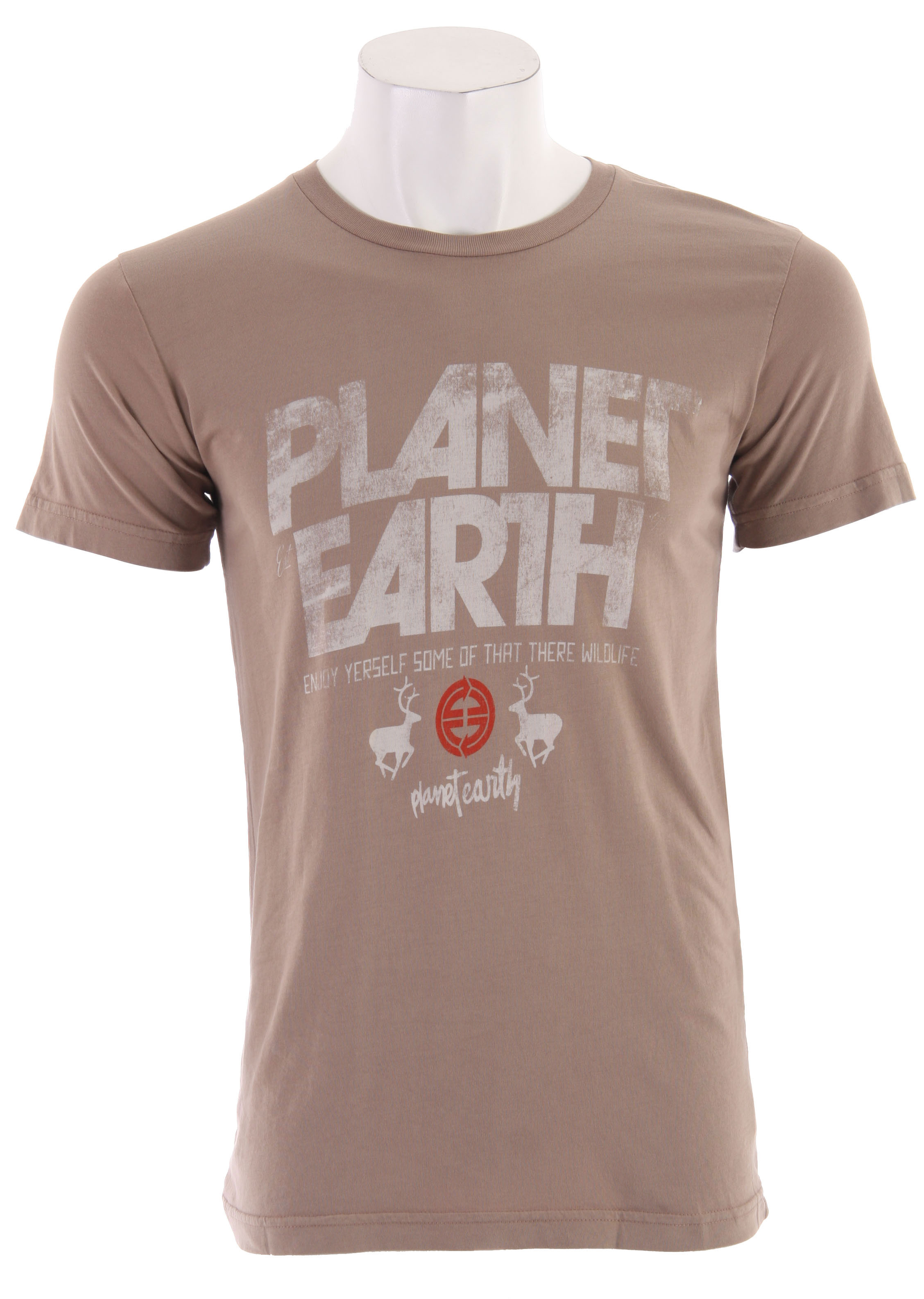 Planet Earth Newman S/S T-Shirt - $8.95