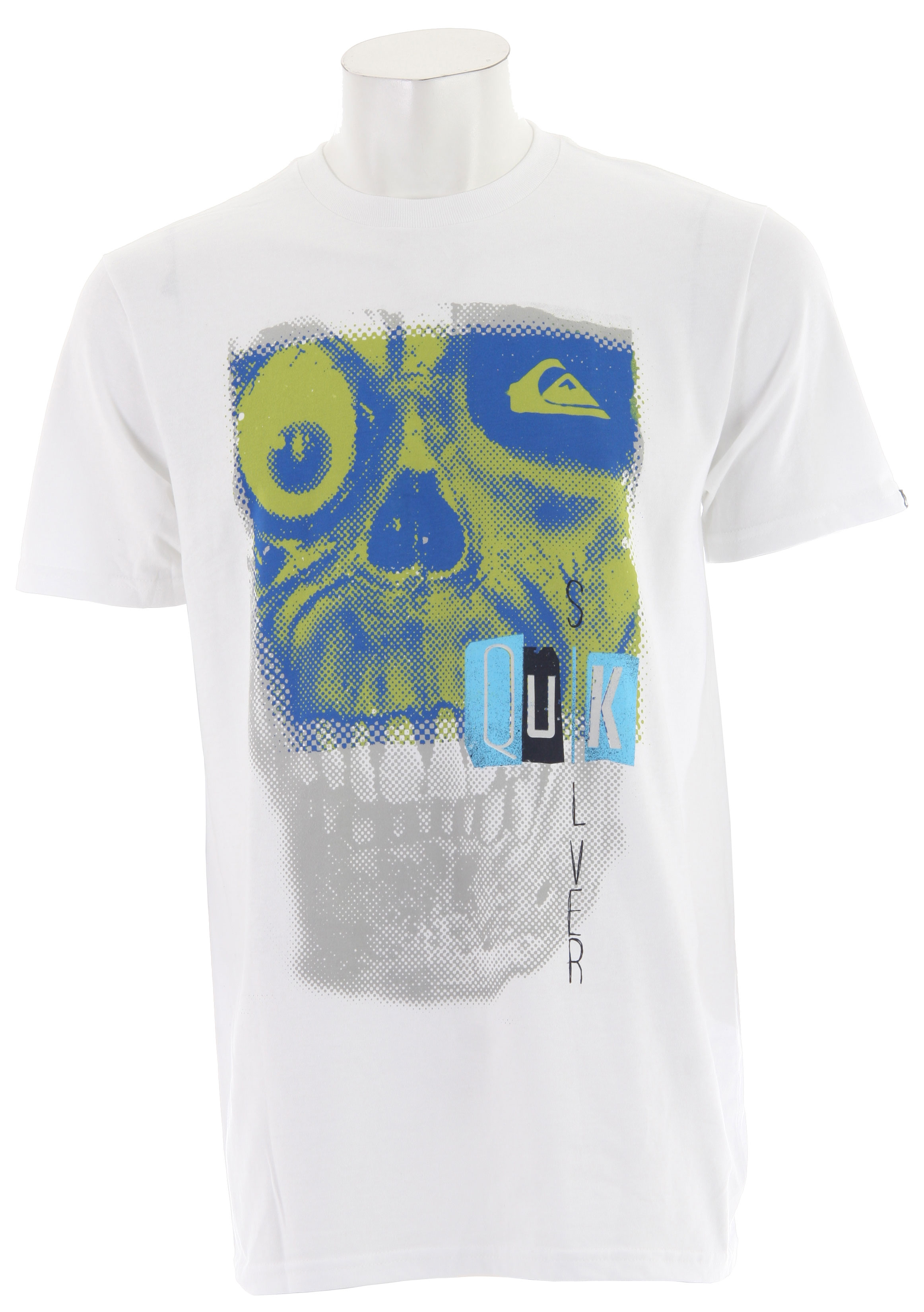 Surf Don't be reckless. Wear a leash, look over your shoulder, hold on to your board and always smile. The rest will come in time.Key Features of the Quiksilver Reckless T-Shirt: 94% Cotton 6% Organic Cotton Heat sealed neck label - $13.95