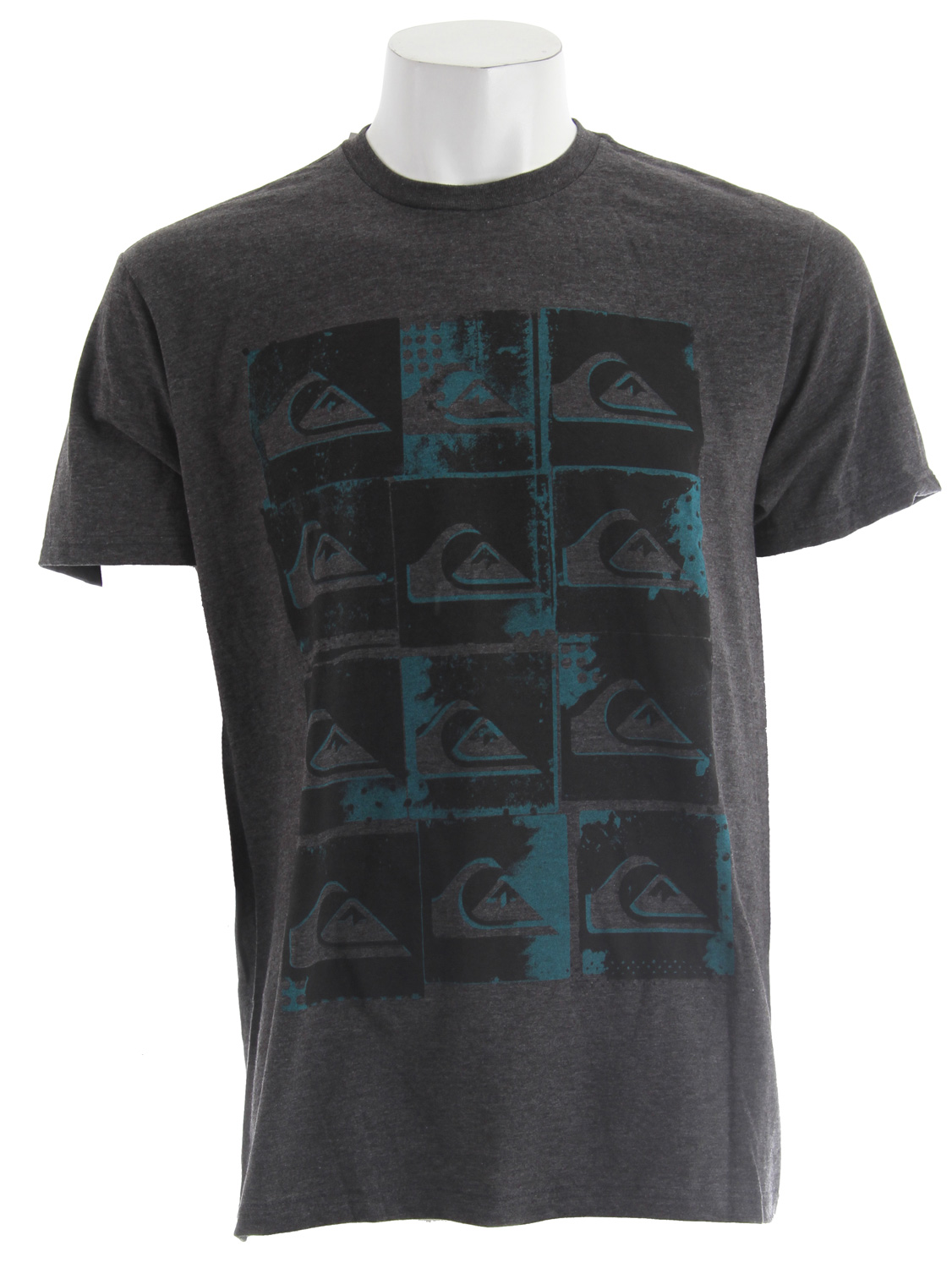 Surf Key Features of The Quiksilver Pop Irritation T-Shirt: Regular Fit Crew Neck Short Sleeve Solids: 100% Cotton Heathers: 50% Cotton, 50% Polyester Woven neck label - $19.95