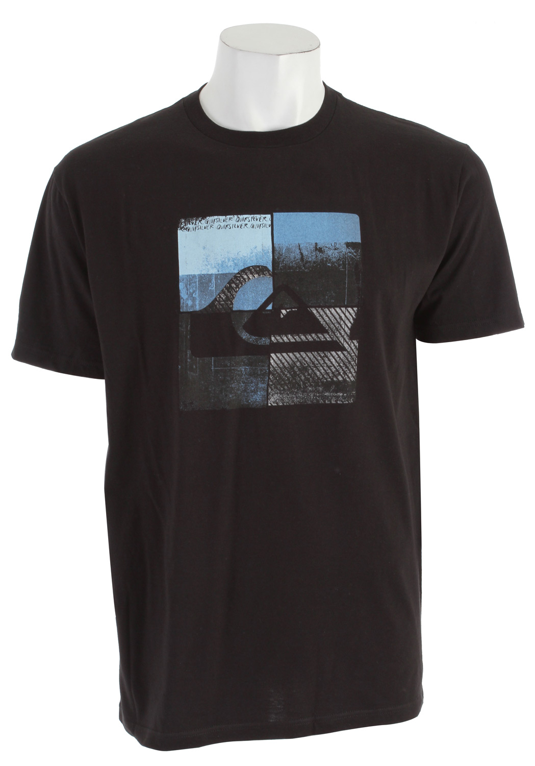 Surf Key Features of The Quiksilver Locust Star T-Shirt: Slim Fit Crew Neck Short Sleeve Solids: 100% Cotton Heathers: 50% cotton/50% polyester - $14.95