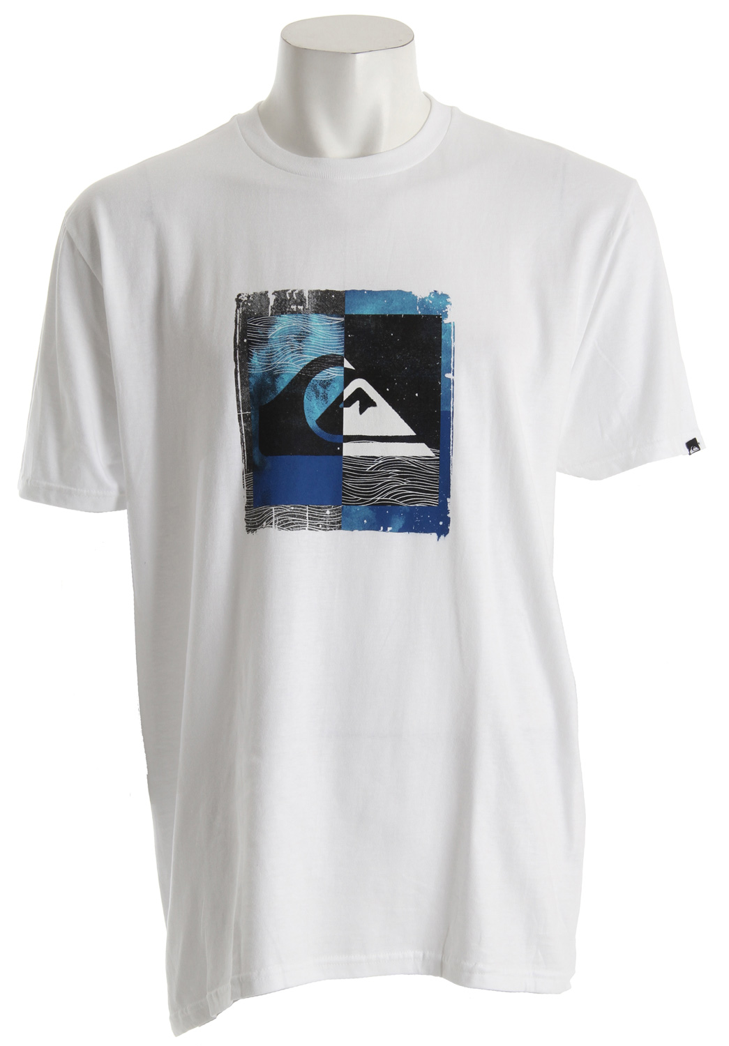 Surf Key Features of the Quiksilver Wallart T-Shirt: Solids: 100% Cotton Heathers: 50% Cotton, 50% Polyester Woven neck label - $19.95