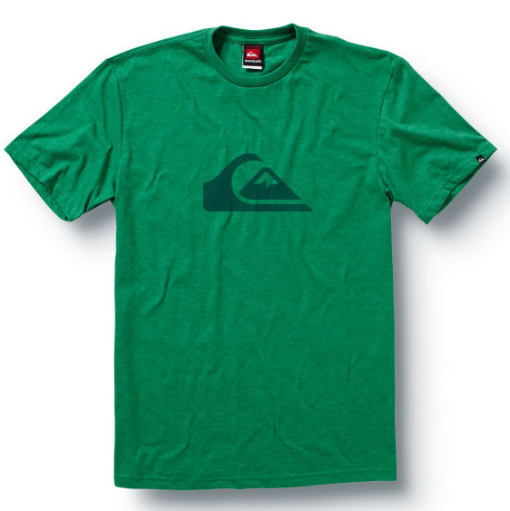 Surf The Mountain Wave classic tee says one thing and one thing well - you like mountain and waves.Key Features of The Quiksilver Mountain Wave T-Shirt: Slim Fit Crew Neck Short Sleeve ringspun combed jersey SOLIDS: 100% cotton HEATHERS: 50% cotton 50% polyester - $12.95