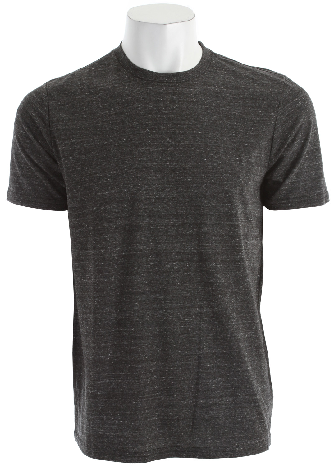 Surf Key Features of The Quiksilver Blank Premium Heather T-Shirt: Premium T-Shirt Crew Neck Short Sleeve triblend jersey crew 50% polyester, 38% cotton, 12% rayon - $22.00