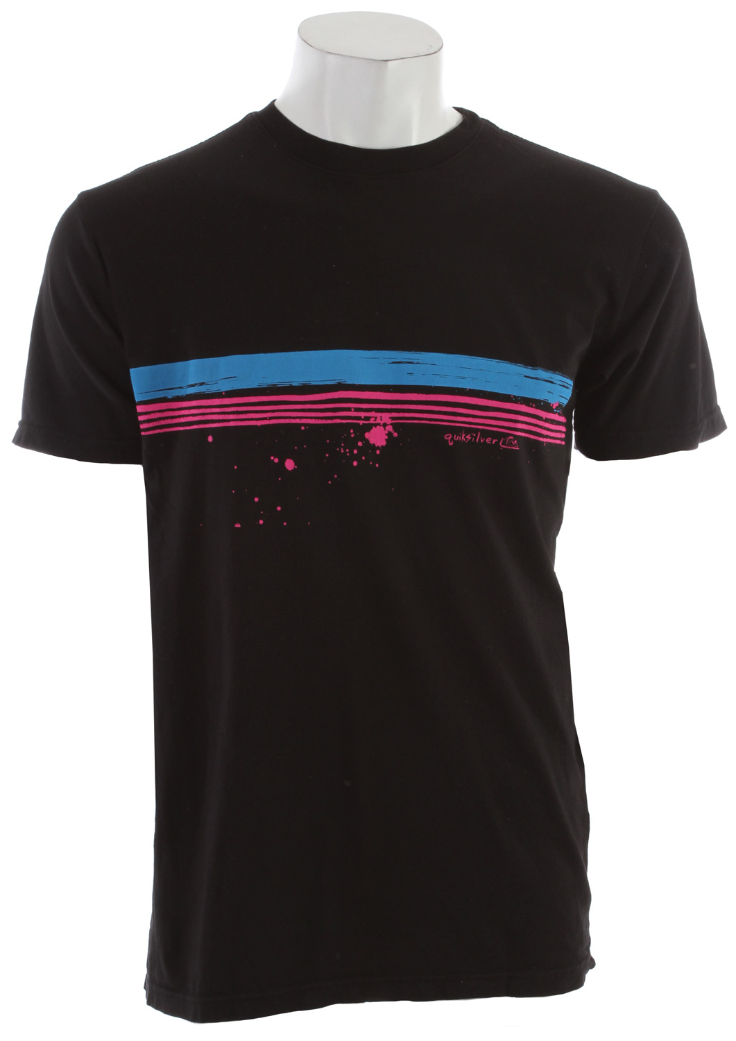 Surf Key Features of the Quiksilver Treason Neon T-Shirt: 100% Cotton Machine wash Imported - $15.95