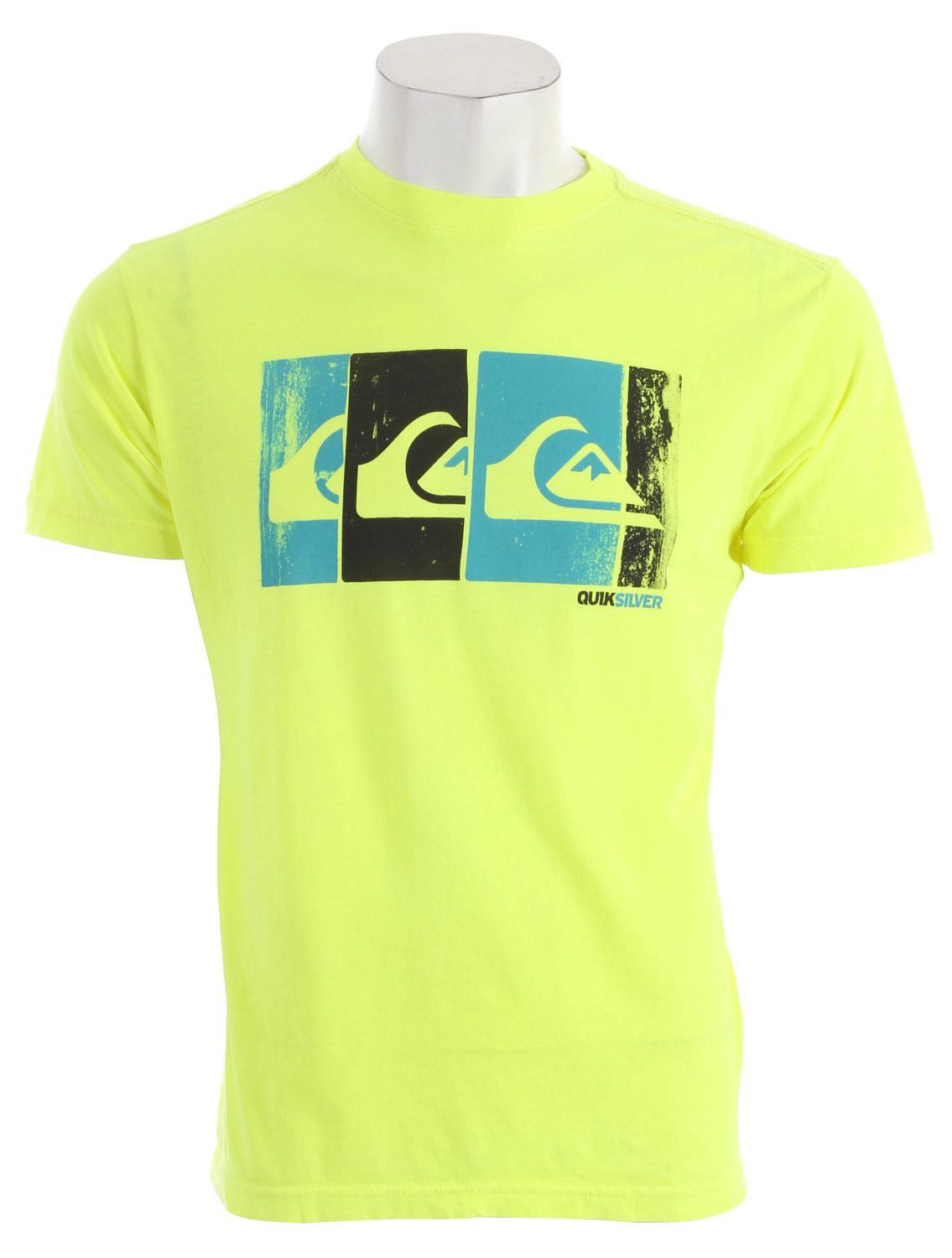 Surf Key Features of the Quiksilver Bold T-Shirt: 30 singles ringspun combed 100% cotton Garment overdyed with enzyme/silicone wash Slim fit - $17.95