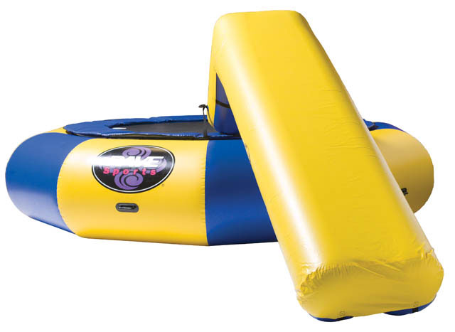 What is a water playground without a slide? Attach the Aqua Slide to your Aqua Jump for a wet and wild ride into the water. Believe us, your family and friends will love it! We have discovered that you are never too old or too big for this slide. Does not include the trampoline in the picture, only the slide attachment. - $699.99