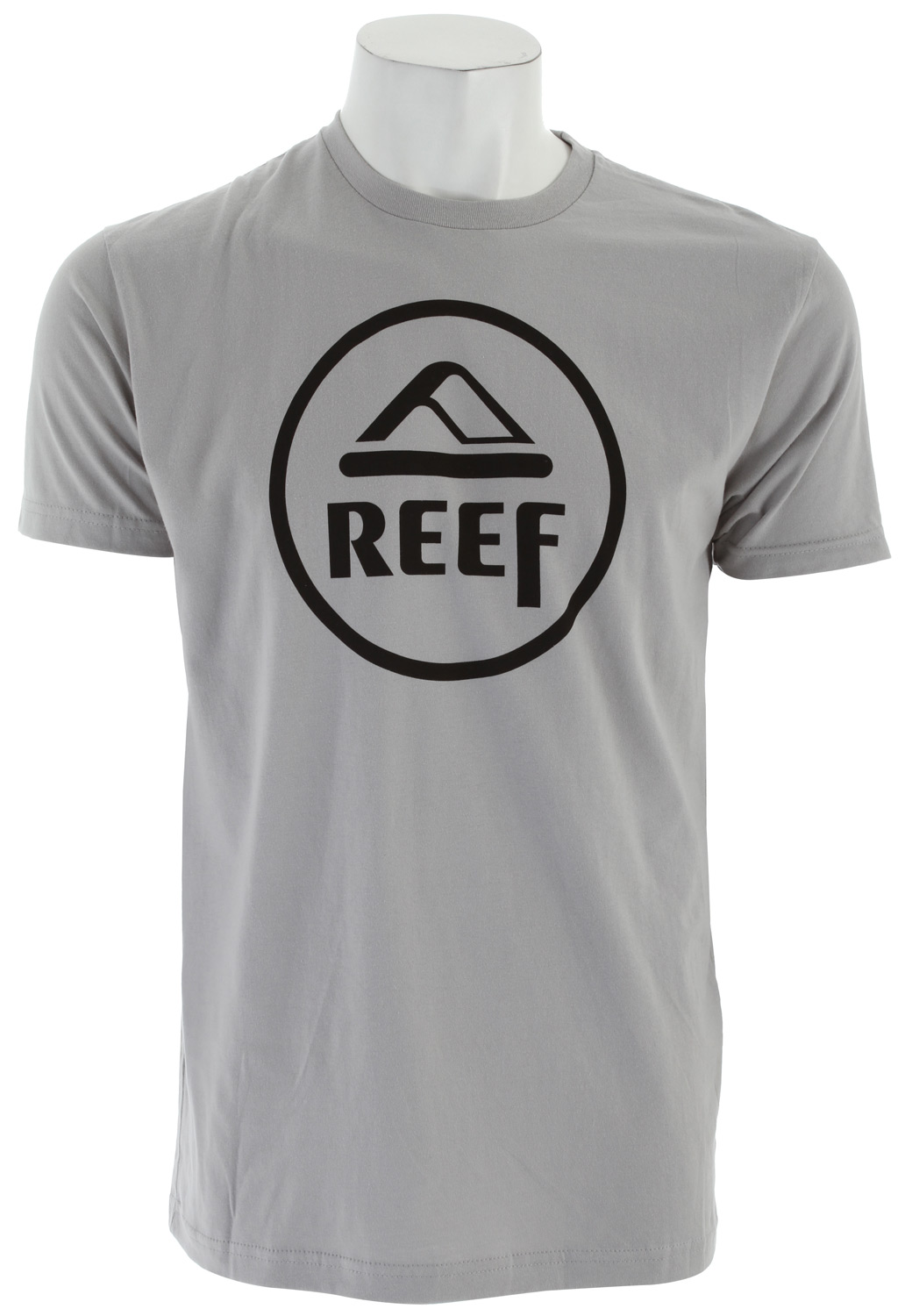 Surf Key Features of The Reef Vintage Circle T-Shirt: Slim Fit Crew Neck Short Sleeve 100% cotton Center front screen print - $22.00