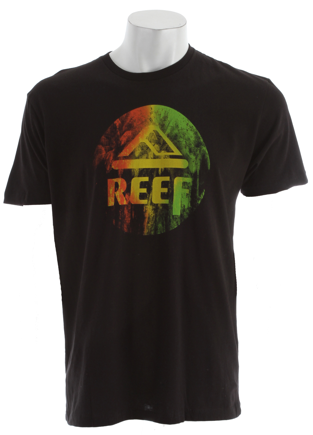 Surf Key Features of the Reef Peens T-Shirt:  100% Cotton Slim Fit Tee  Center Front Screen Print - $17.95