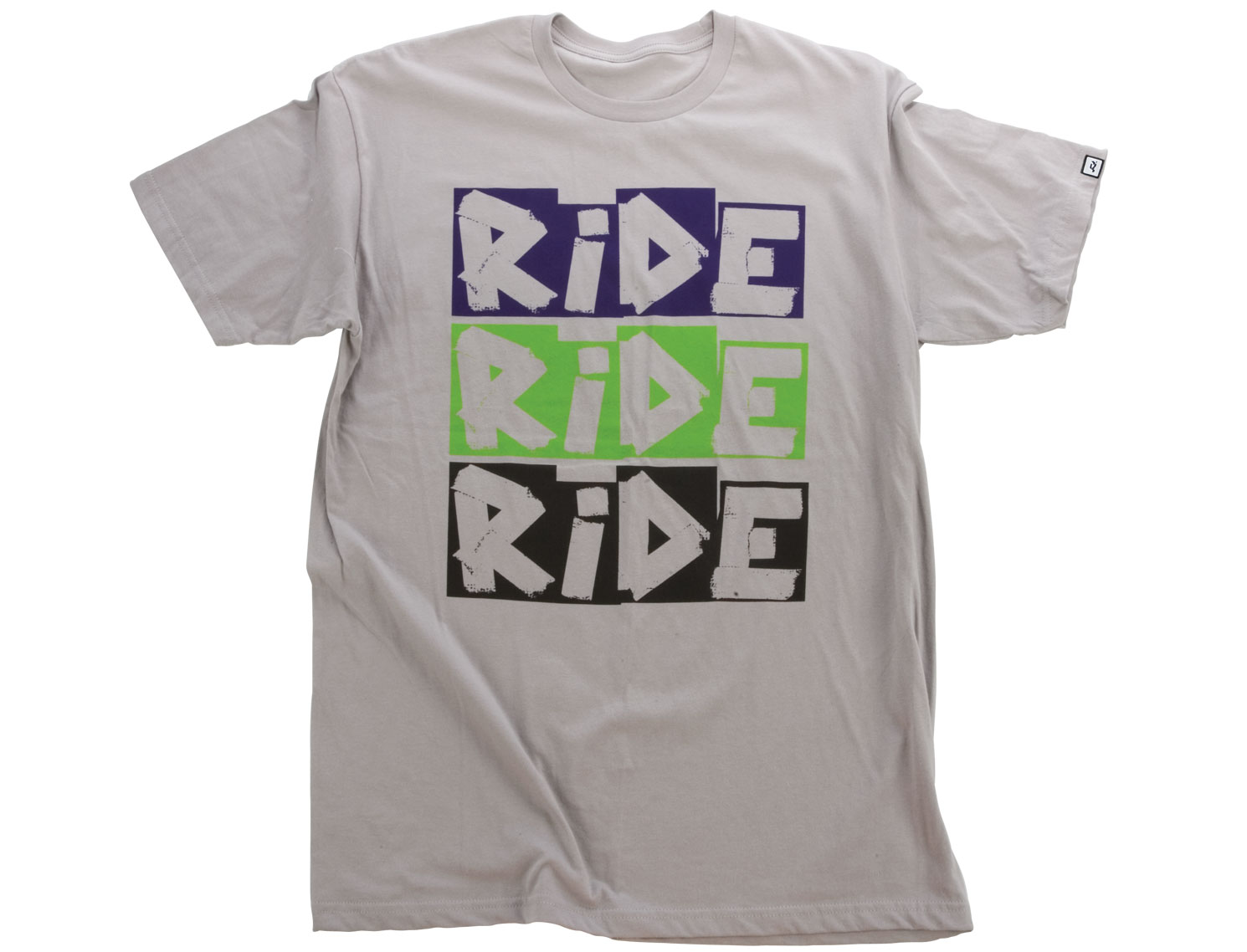 Nothing less than the best: 100% Pure Cotton.Key Features of the Ride Slim Logo T-Shirt:  Short Sleeve  Slim Fit  Silkscreen  Woven Label - $9.95