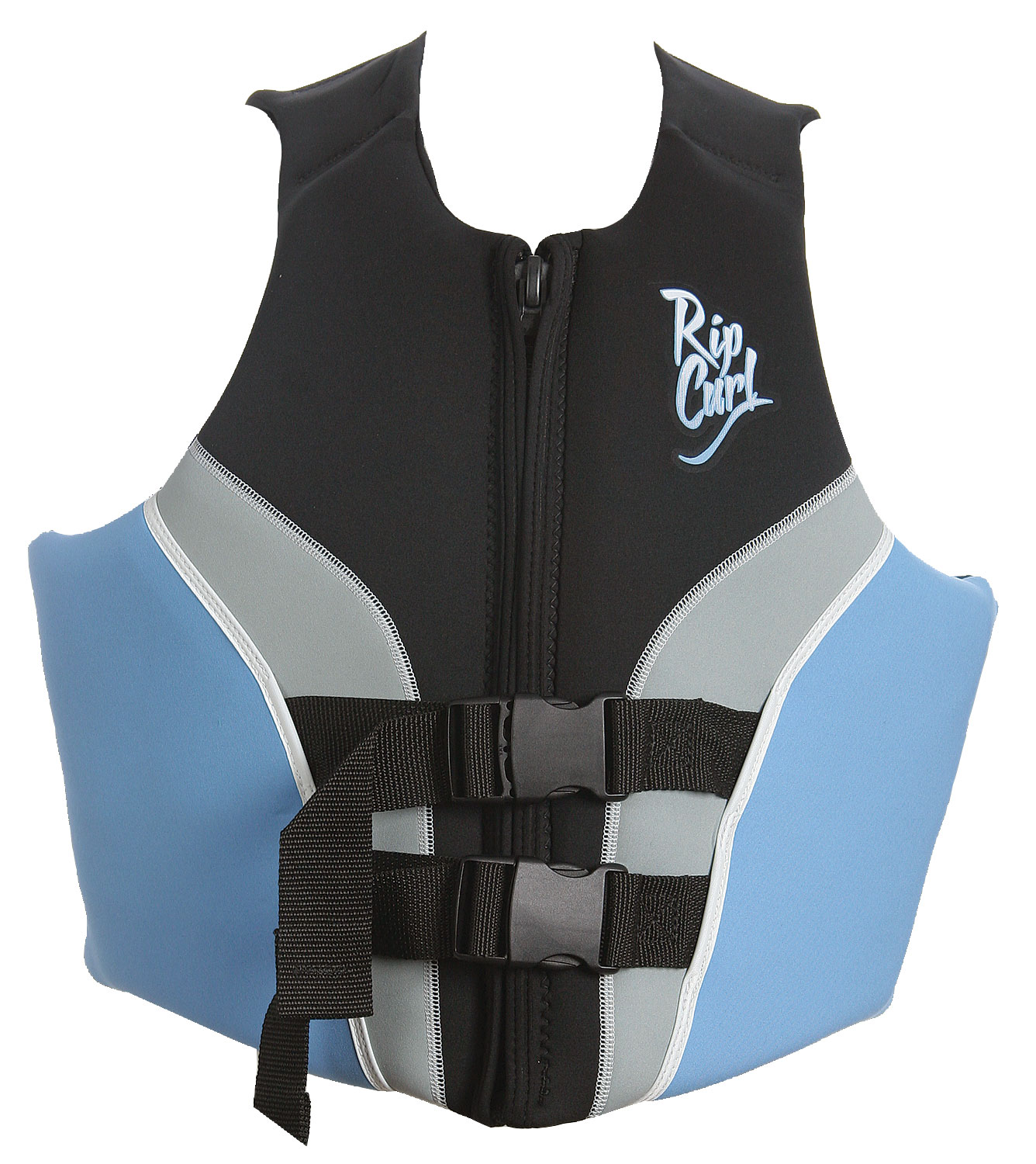 Wake If you're looking for a life vest that not only looks great but will function properly look no further than the Rip Curl Flow USCG Wakeboard Vest. This vest is designed with the wearer's comfort in mind along with a strong durability and style that is not found anywhere else on the market. This vest will stay secure on your body and won't let you down while you're wakeboarding. So if you're looking for a great functional vest the Rip Curl Flow USCG Wakeboard Vest may be what you're looking for.Key Features of The Rip Curl Flow USCG Women's Wakeboard Vest: Color: Black/Lt Blue USCG Approved Dual Internal Strap Design Lower Mesh Drainage - $46.95