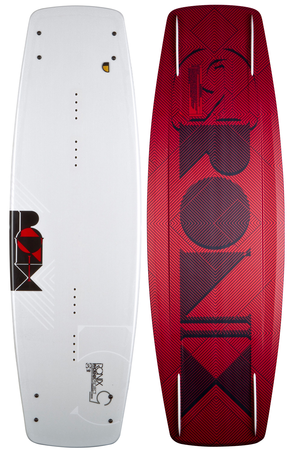 "Snowboard The phoenix project opens up a new spectrum of board designs and riding styles allowing a rider to push all the way up the wake, and as the tail passes through the peak, it continues to build energy - not dampening the ride like most ""flex"" boards out there. A rider can feel the shift in board energy from the nose to the tail the longer they wait due to the unique lay up and wide 28"" stance option. A deck that you session more like your favorite snowboard, timing the wake with a later pop. Or just ride it like a traditional board with a mellower snap and super forgiving landings. With the phoenix project's thinner profile and blended glass, you can feel a balance point- while pressing rails, the board flexes until it locks. A newfangled shape, winning the 2011 alliance and transworld favorite board of the year honors, for riders that want more of a snow/skate feel leaving the wake and added control on rails, or that just have a conventional style and want a smoother overall ride. For decades, our engineers have been developing different layups of glass, constructions, woods and foams to create a board that does one thing, store energy. New for this year, we have the phoenix project - s, lighter, a later kick, more feel on the water and control on rails. Transworld wakeboarding editor's pick - ""the coolest board I have ever ridden"" voted best boat and cable board by 2 judges in the alliance magazine gear guide.* Full Center Rail Creates A Smooth Transferring Board From Edge To Edge -Blends To A More Vertical Sidewall In The Tip And Tail Allowing The Board To Ride Higher On The Water With More Glide Speed -Most Exaggerated Bottom Bevel Starts Out At 4 degree Blending To 18 degree On The Ends Super Forgiving And Less Likely To Get Hung Up On Rails -Deep Symmetrical Channels * Help With Acceleration Thru A Turn And Push The Rider Into The Wake -Subtle Tunnel More Efficient Water Flow And Stabilizes Landings -Rocker Line Carries A Lot Of Speed Up The Wake Making It Easier For A Rider To Have A Late Take Off -Sintered Base * The Most Durable Non-Stick Base Material We Have Ever Tested On Rails Without Loosing Any Glide Speed On The Water -Blended Glass * Our Secret Concoction Absorbs More Energy Before Rebounding It * A Lightweight Woven Construction Brings Less Swing Weight And Increased Feel On The Water To The Board -Mod Pour * The Highest Strength To Weight Ratio We Have Ever Tested * Setting The Standard Of The Most Refined Recipe Of Foam Out There -4 Slider Fins * A Fin Actually Designed To Be Sessioned On Rails, Also For Riders That Like That Finless Feel, The Wider Design Creates Turbulence Giving It A Less Gratuitous Grip On The Water -4 Fiberglass 1.0"" Ramp Fins -Versatile Cable And Boat Board With A Controlled Flex -Ridden By Erik Ruck And Marc Rossiter - $236.95"