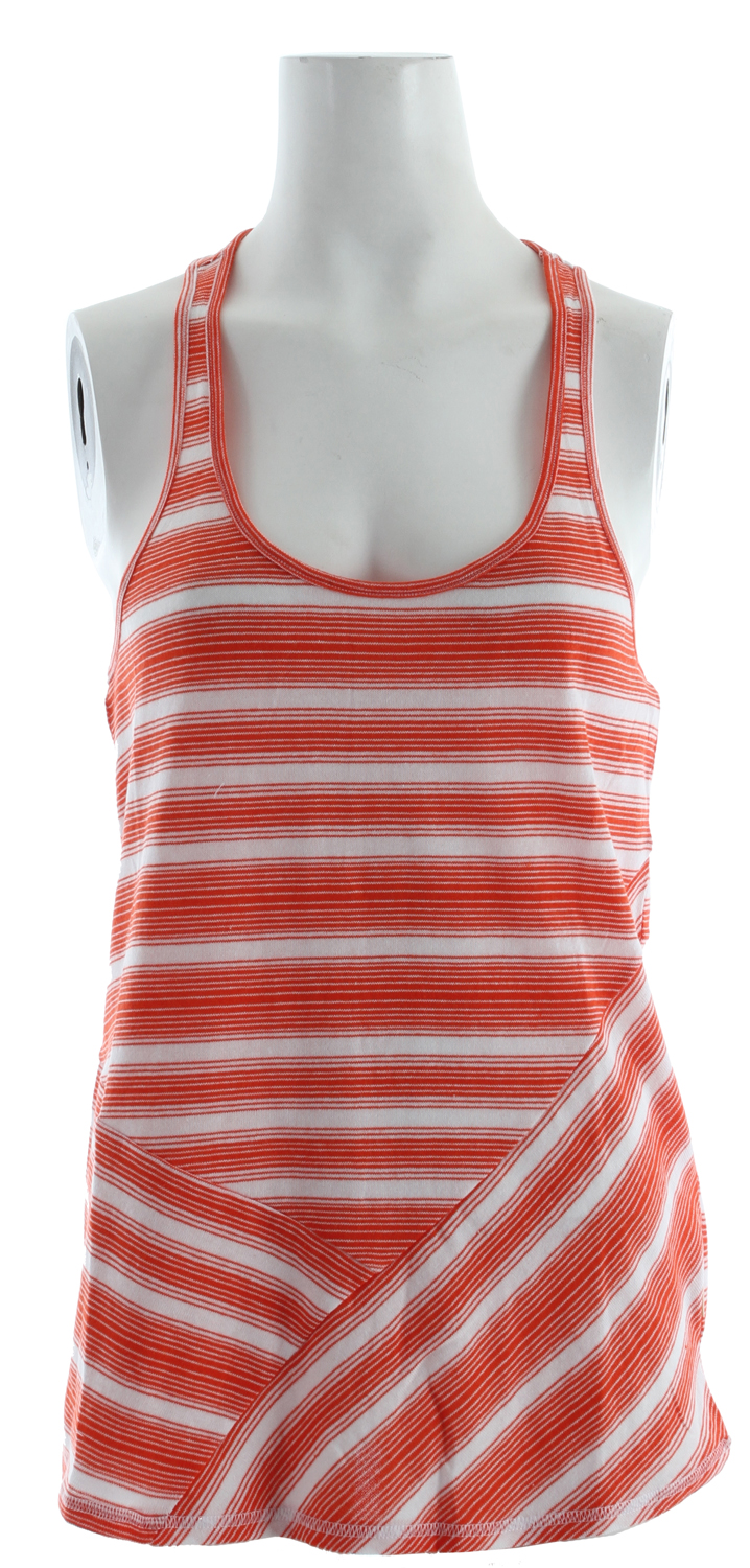 "Surf Cool off this summer in the super comfortable Shallow Tank.  60% cotton/40% poly fine knit   Racer back tank with bias seaming   26"" hps - $19.95"