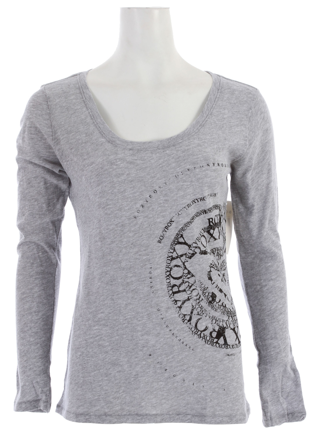 "Surf Key Features of the Roxy Round And Round T-Shirt: 100% Cotton slub Skinny racerback tee 28""hps - $29.50"