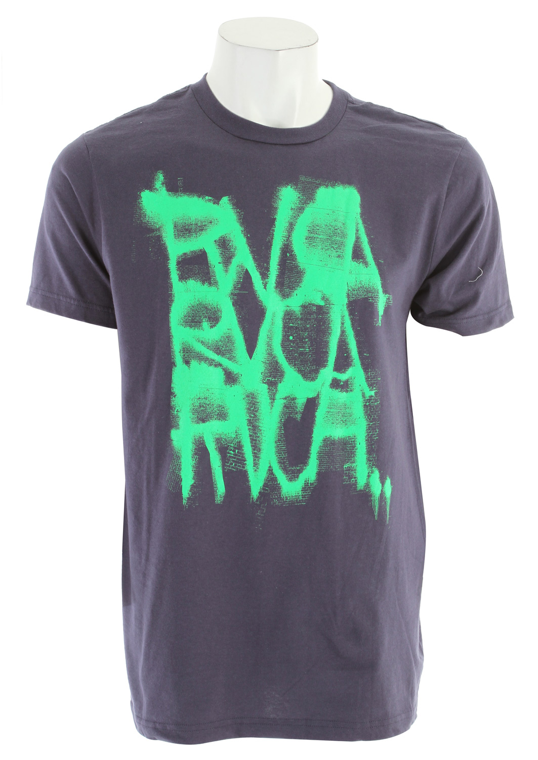 Skateboard Key Features of The RVCA Extinguisher T-Shirt:  Regular Fit  Crew Neck  Short Sleeve  100% combed cotton  Front, back and inside neck screenprint - $16.95