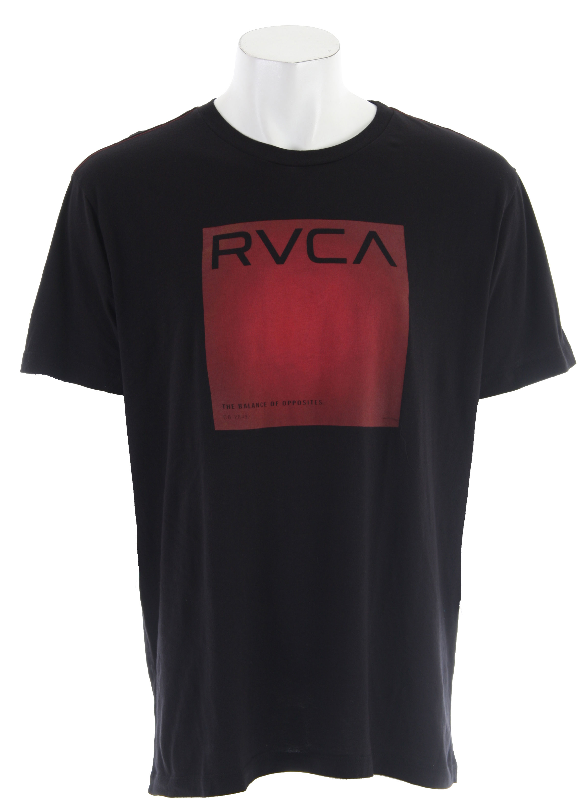 Key Features of The RVCA Process T-Shirt: Regular Fit Crew Neck Short Sleeve RVCA's Vintage Dye 100% Cotton Tee Signature Red Contrast Stitch - $17.95