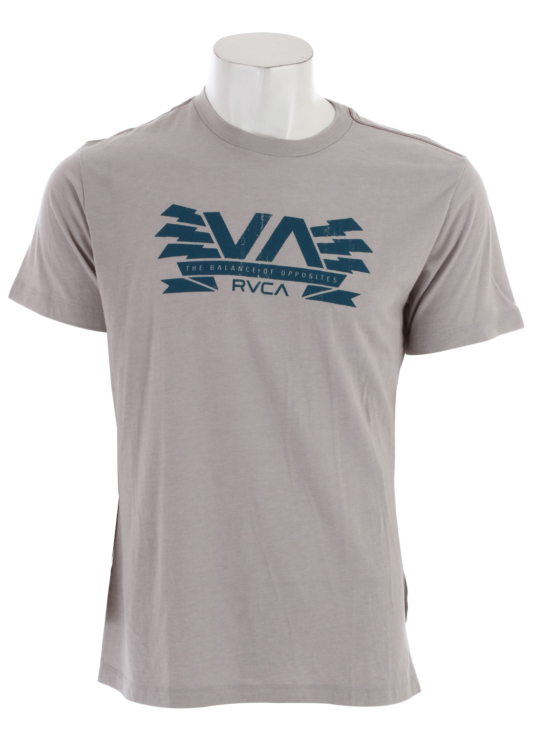 Surf Key Features of the RVCA Charged Va T-Shirt: 90% Cotton/10% Polyester Tank Top Front screen with screened inside neck. - $17.95