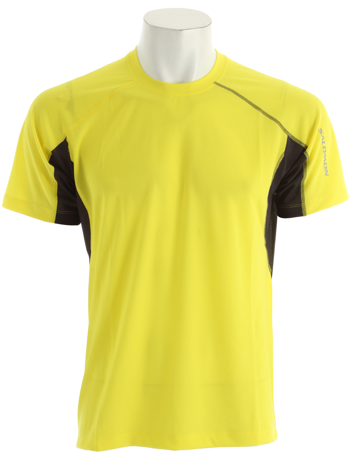 Fitness Relaxed fitting, versatile tee for running and outdoor sports with mesh pit vent panels, updated seam detailing and stash pocket.Key Features of the Salomon Trail IV T-Shirt: Flatlock Seams Stash Pocket Reflective Branding Front & Back actiLITE Poly Mock Eyelet actiLITE Stretch Mesh Relax Fit - $22.95
