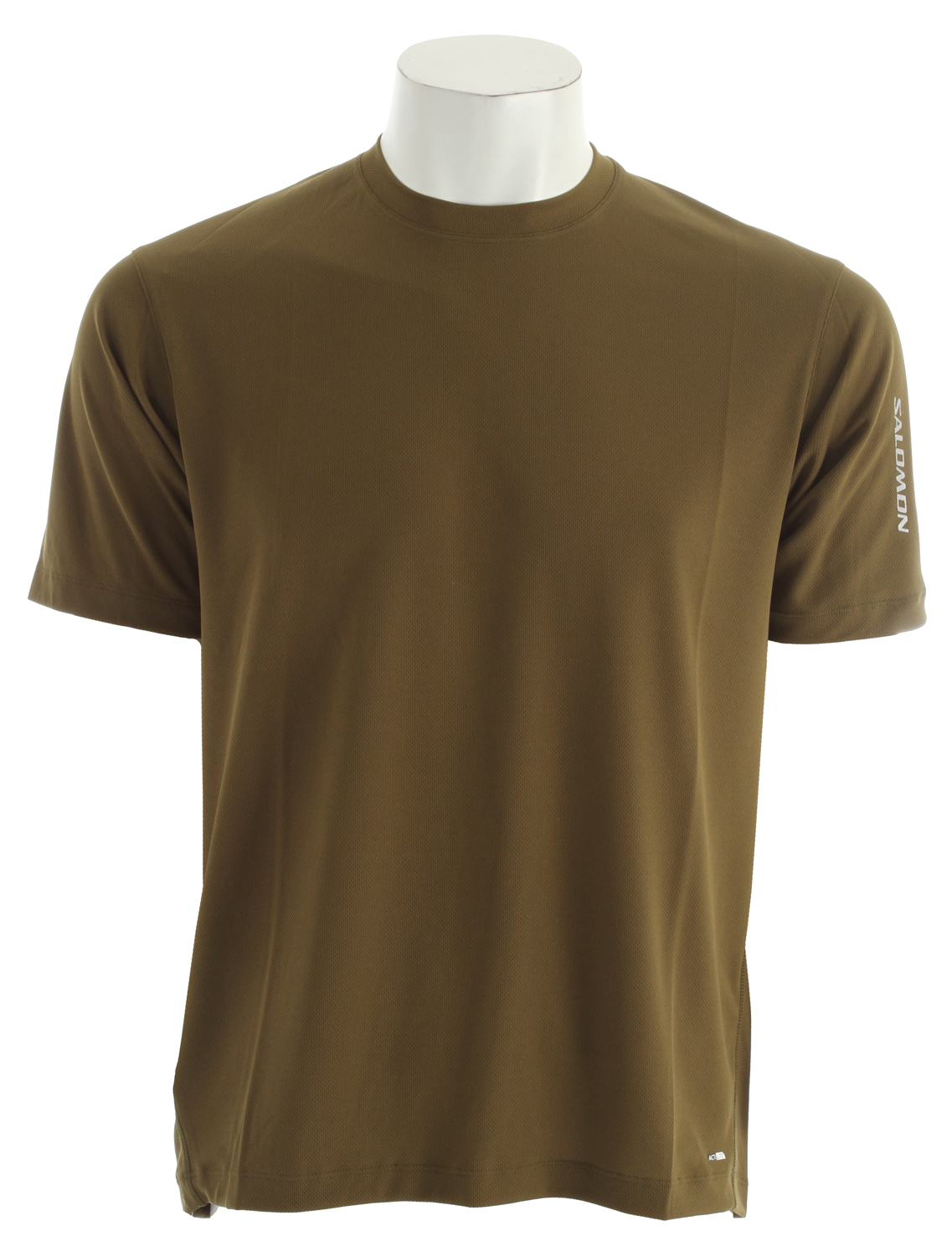Fitness Very light, very breathable running T-shirt with reflective detailing and a relaxed fit.Key Features of the Salomon X T-Shirt: Flatlock Seams Reflective Branding actiLITE™ Poly Mock Eyelet Relax Fit - $20.95