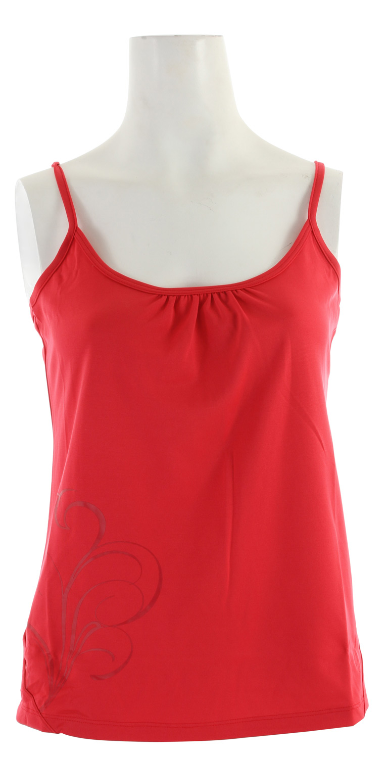 Surf Very soft, light weight and quick drying, this jersey fabric tank is great for all outdoor activities.Key Features of the Salomon Champex Tank: Decorative Seams ClimaUV 50+ actiLITE Poly Jersey Relax Fit - $17.95