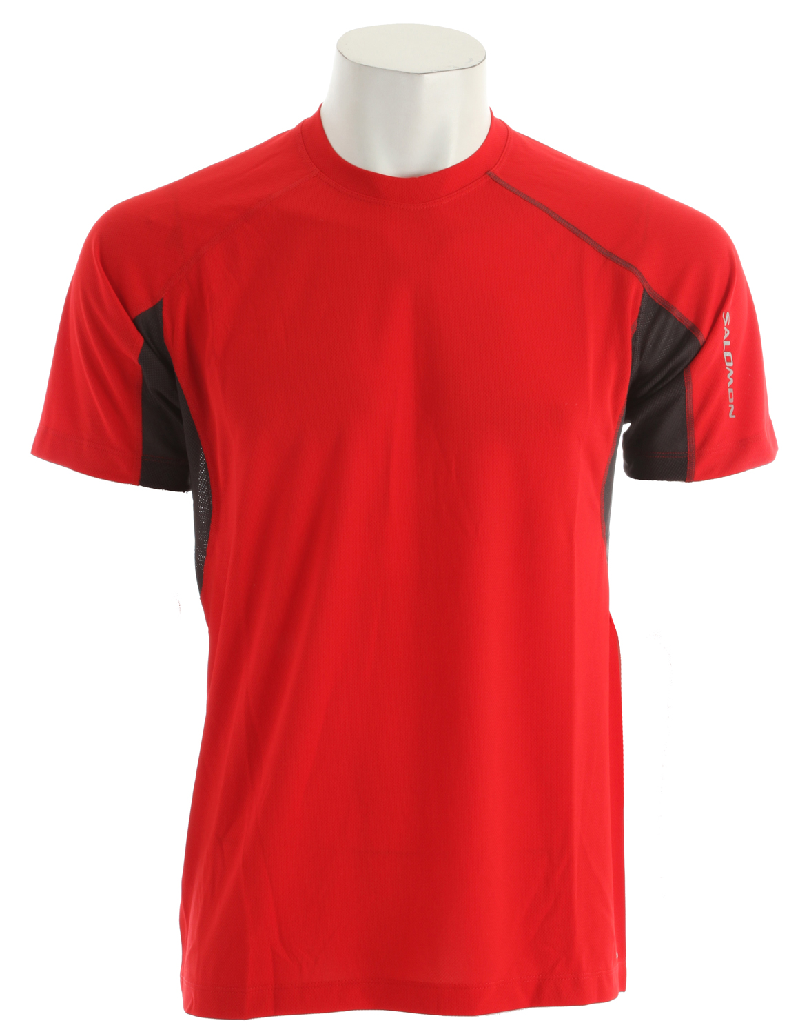 Fitness Relaxed fitting, versatile tee for running and outdoor sports with mesh pit vent panels, updated seam detailing and stash pocket.Key Features of the Salomon Trail IV T-Shirt: Flatlock Seams Stash Pocket Reflective Branding Front & Back actiLITE Poly Mock Eyelet actiLITE Stretch Mesh Relax Fit - $19.95