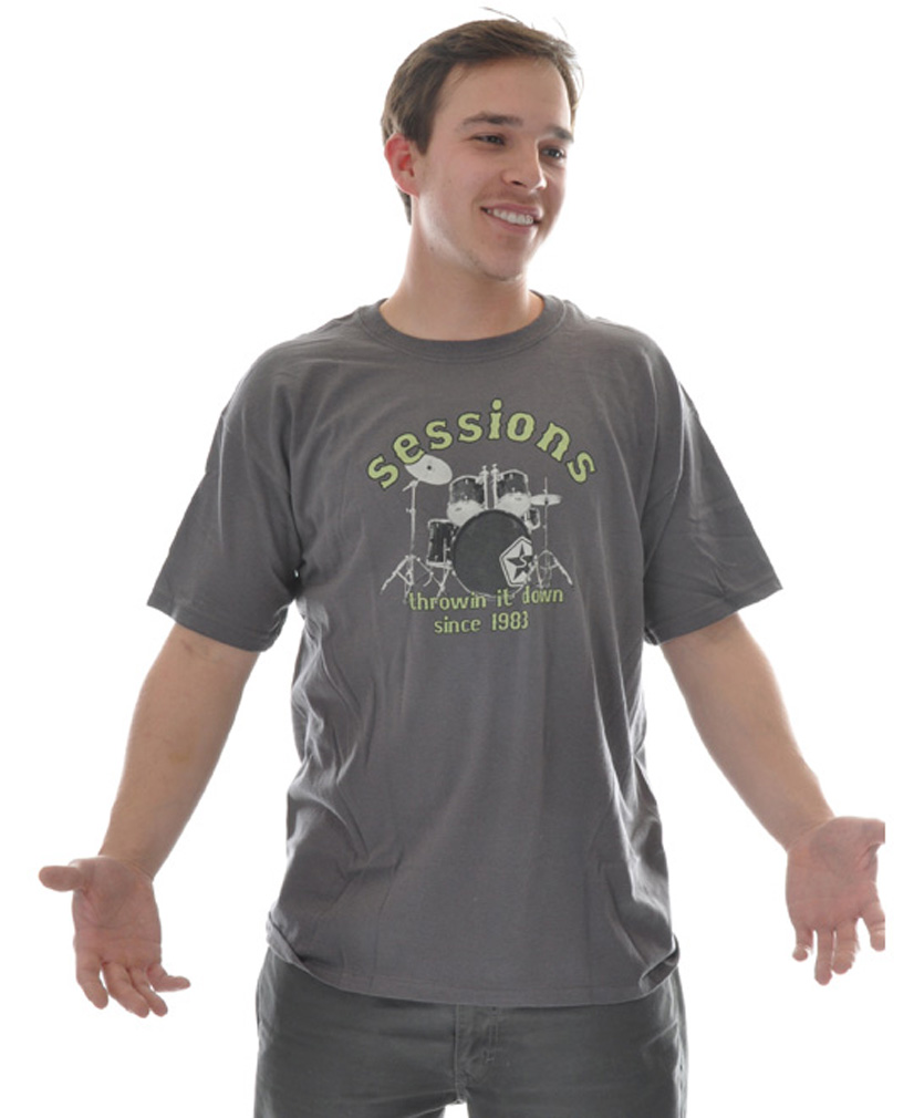 Key Features of The Sessions Rocker S/S T-Shirt: Regular Fit Crew Neck Short Sleeve - $9.95