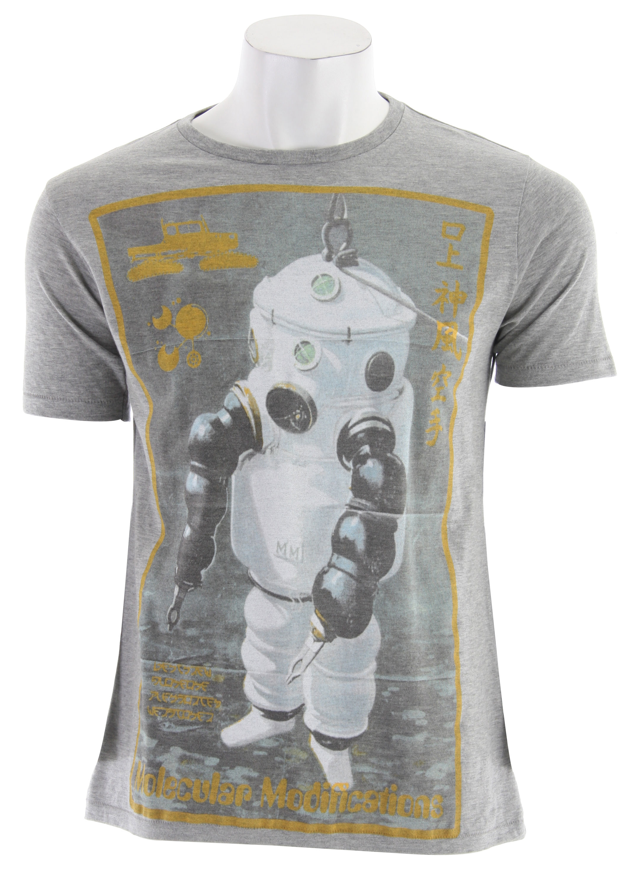 The Spacecraft Diver T-Shirt is a cotton jersey with print from artist collective series. - $24.95