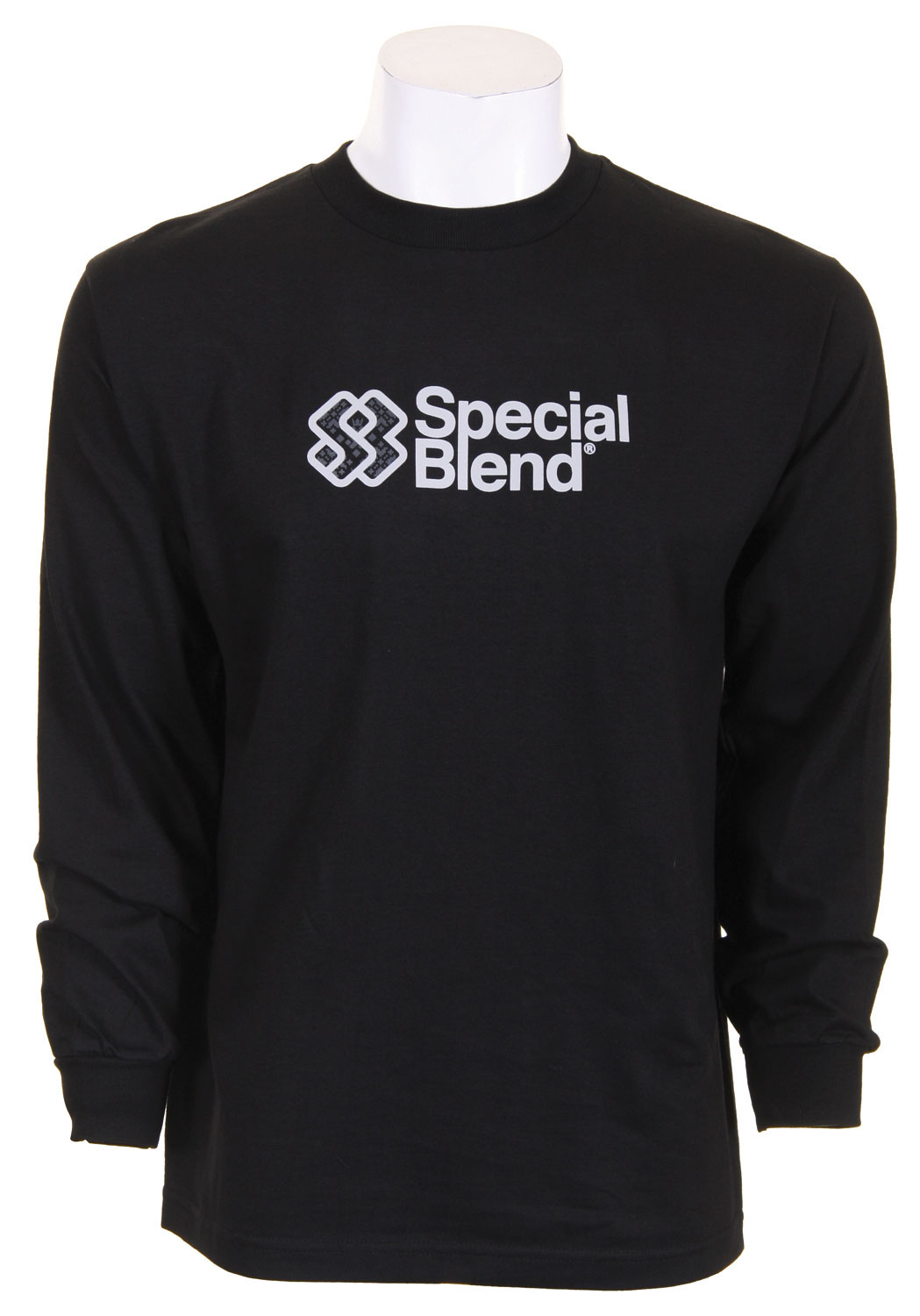 Basic best describes this great long sleeved t-shirt from Special Blend. This 100% cotton t-shirt will take you from the slopes to the dance floor with ease. Its simplistic style and large Special Blend logo are perfect for the guy that is not trying too hard. Make a subtle statement in the great basic long sleeved tee from Special Blend. Priced just right, the Special Blend Classic Stack L/S T-Shirt is a must have for any guy.Key Features of the Special Blend Classic Stack L/S T-Shirt Black: 100% Cotton - $10.75