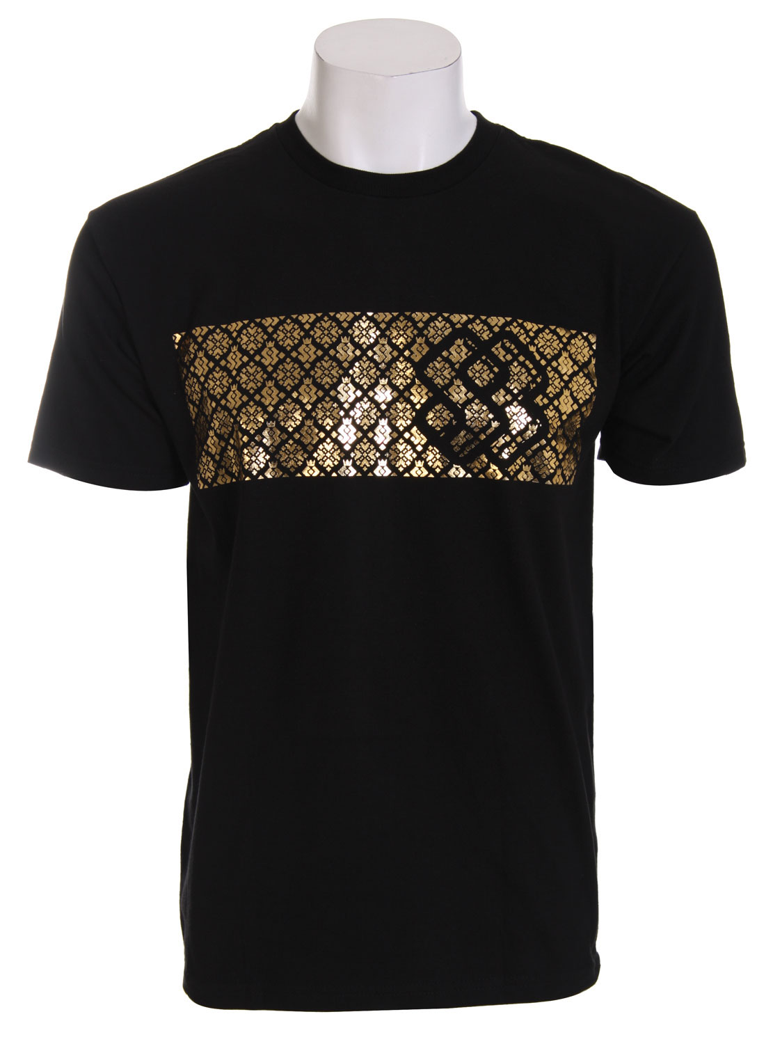 Do you like to have a little bling in your wardrobe? Do you hate being plain, and love the more flashier designs. Well if you like flashy designs and a little bling you will have no choice but to purchase this Special Blend Invader T-Shirt. The t-shirt has an overall great design. But what really makes the shirt what it is, is the great shiny gold design that stretches across the chest. It's a real eye catcher and should have no problem getting you the attention you love to have. For having a big shiny design on the chest, it is actually quite the comfortable shirt and has a great relax feel to it.Key Features of the Special Blend Invader T-Shirt White: 100% Cotton - $8.95