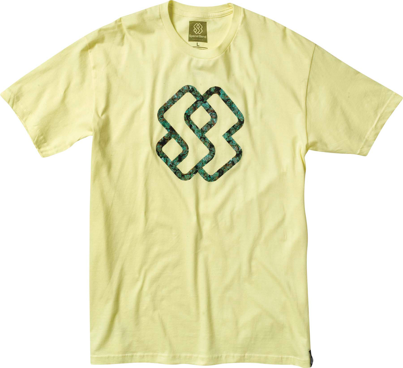 Be the first of your friends to get your hands on the Special Blend Line Up T-Shirt.  This shirt made of 4.6 oz of 100% ring spun tubular cotton.  A feature of the t-shirt is its screenprint art.  The Line Up T-Shirt is short sleeved and crew necked.  The Special Blend shirt comes with a 30-day manufacturer warranty.Key Features of The Special Blend Line Up T-Shirt:  Regular Fit  Crew Neck  Short Sleeve  Short sleeve tee   Freedom fit  100% ringspun tubular cotton, 4.6oz  Screenprint art - $10.95
