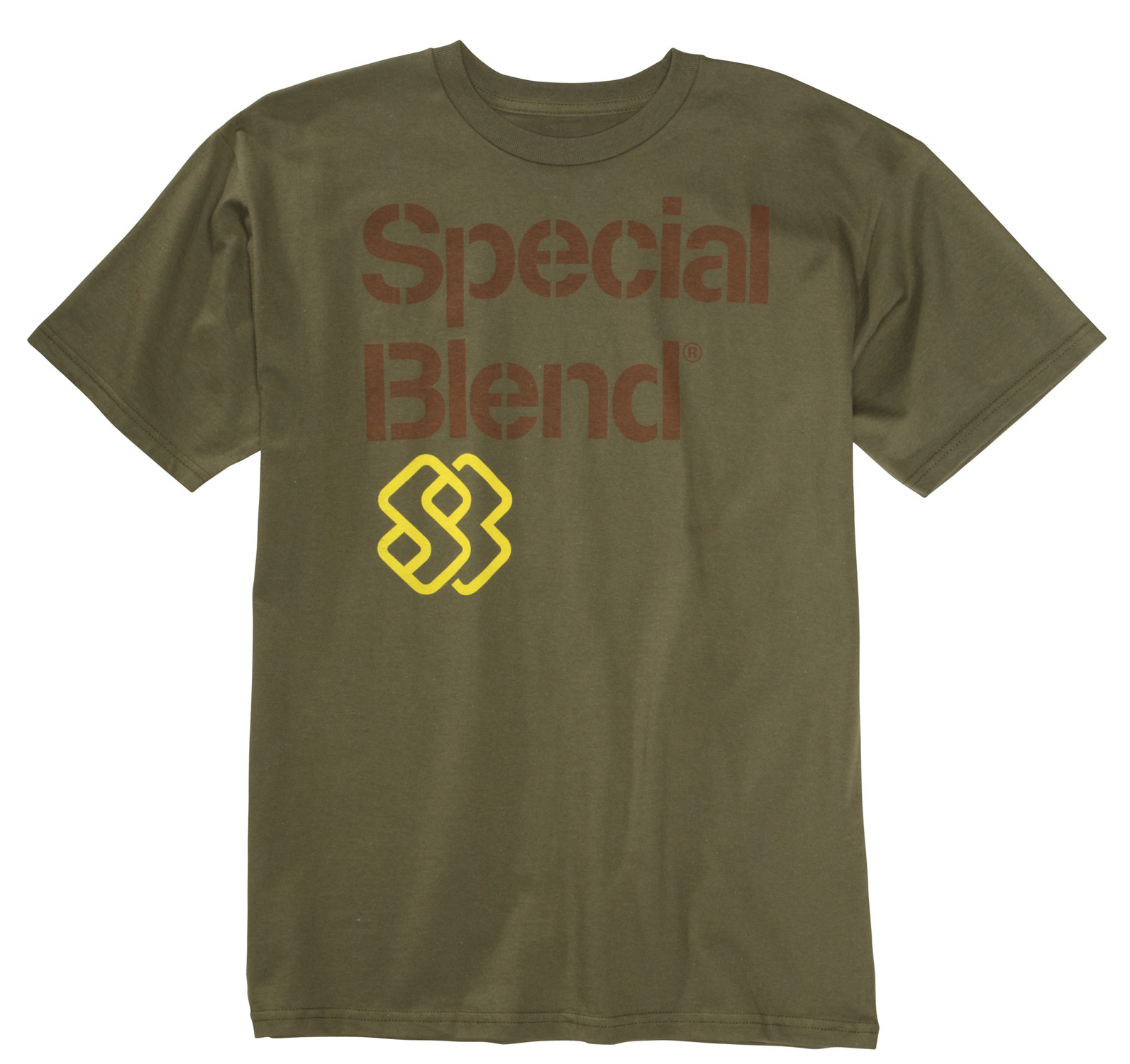 Key Features of The Special Blend STK Stencil T-Shirt: Regular Fit Crew Neck Short Sleeve 100% cotton - $9.95