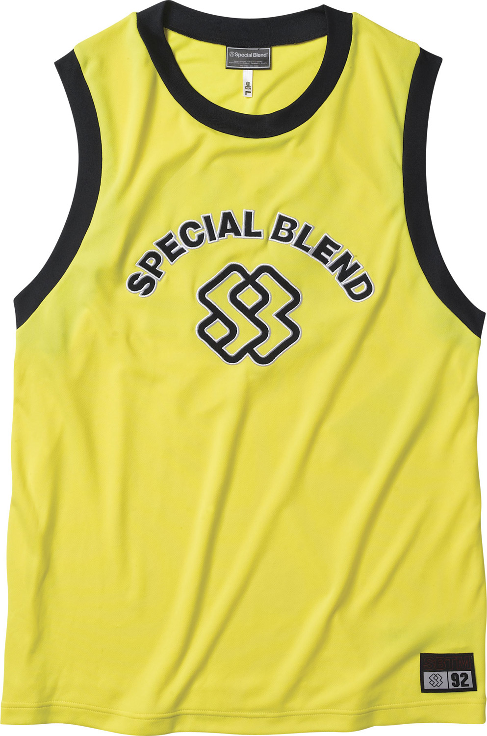 Surf Key Features of the Special Blend Frank The Tank Tank Top: Freedom Fit Wicking and Anti-Microbial Mesh body with ribbed neck and armholes Large embroidered & applique SB artwork on front and back - $21.95