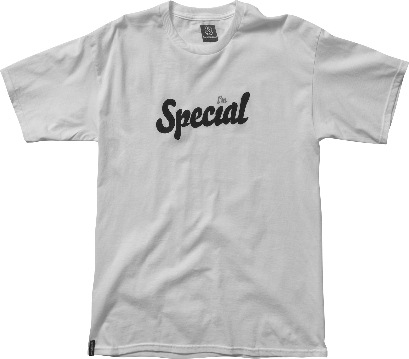 Key Features of the Special Blend I'm Special T-Shirt: Basic Tee / Freedom Fit Short Sleeve Tee 100% Ringspun Tubular Cotton, 5.5 Oz. Screenprint Art - $9.95