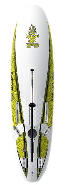 Wake Key Features of the Starboard Phantom Windsurf Board: Length (cm): 295 Width (cm): 72.5 Tail Width (cm): 52.2 Volume (L): 192 Weight: 13.5kg - $1,599.95