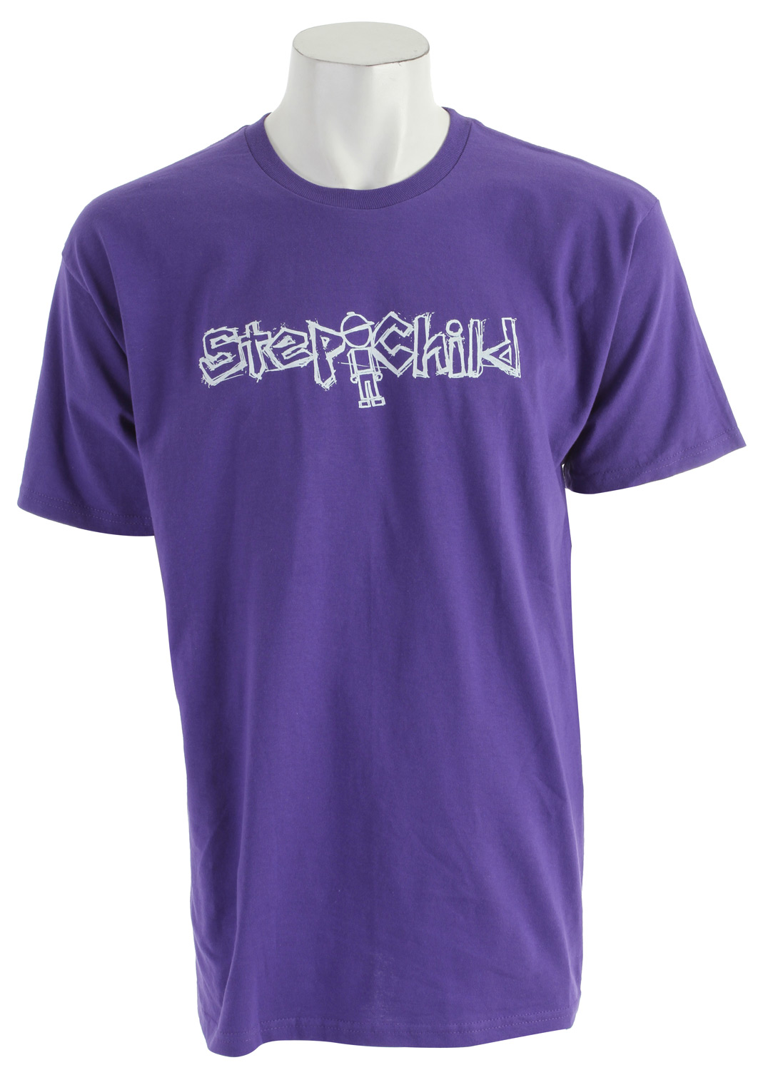 Key Features of The Stepchild Dirtbag T-Shirt: Regular Fit Crew Neck Short Sleeve 100% jersey cotton Screened logo on front - $10.95