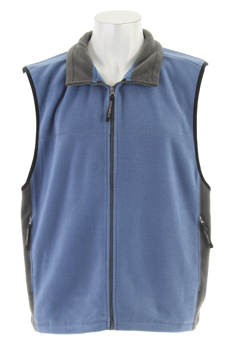 Layer the Chinook Fleece Vest under a shell for core warmth or throw it on to pick up the kids from soccer. The anti-pill micro fleece construction will keep this vest looking new for years to come.Key Features for the Stormtech Chinook Fleece Vest: Adjustable Drawcord Hem Anti-Pill Polyester Polar Fleece Zippered On-Seam Pockets - $9.95