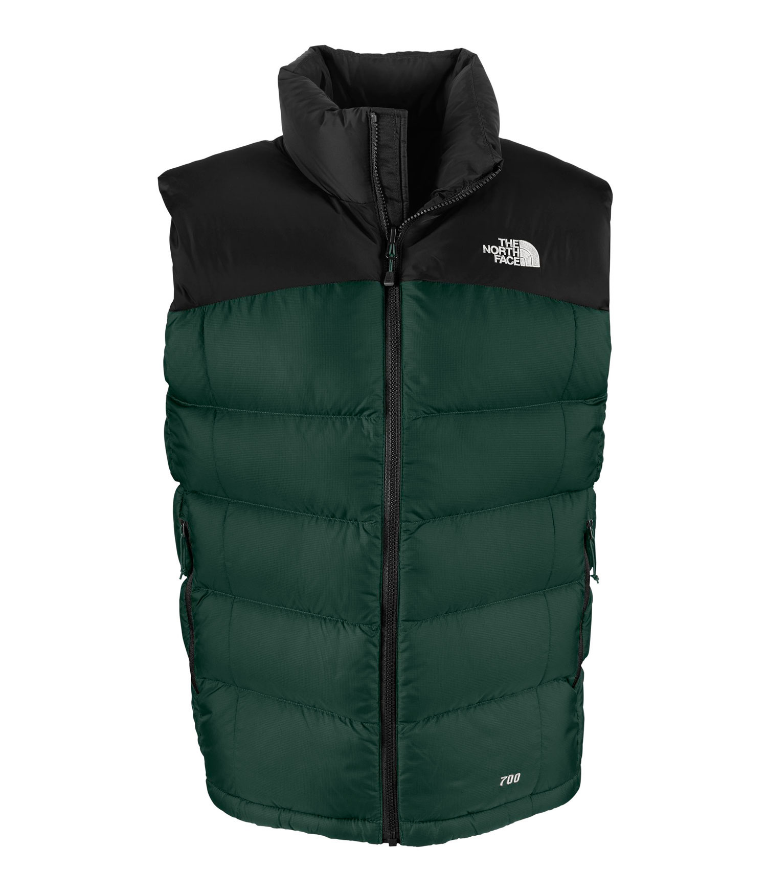 "Key Features of The North Face Neptse 2 Vest: Avg Weight: 500 g (17.64 oz) Center Back: 27"" Fabric: body: 50D 64 g/m2 (1.9 oz/yd2) mini-ripstop weave nylon abrasion: 50D 64 g/m2 (1.9 oz/yd2) plain weave nylon with DWR insulation: 700 fill goose down Sleeveless version of the classic, high loft down jacket that delivers plush warmth in harsh cold. Standard fit Zip-in compatible Double-layer taffeta on shoulders Stows in hand pocket Two hand pockets Hem cinch-cord - $111.95"