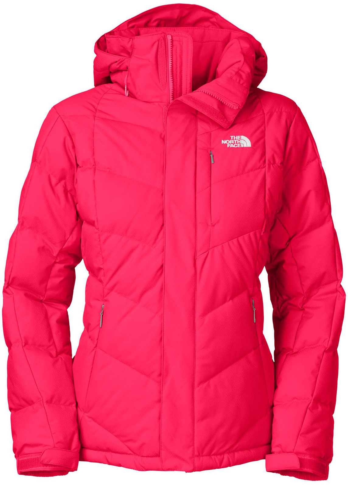 "Ski A fitted, performance down jacket infused with just the right amount of style.Key Features of The North Face Amore Down Ski Jacket: Avg Weight: 980 g (34.57 oz) Center back: 27.5"" Fabric: shell: 70D 115 g/m2 HyVent® 2L nylon dobby (bluesign® approved fabric) Insulation: 550 fill down Water-resistant, breathable Adjustable EZD-tach hood Invisible Napoleon zip pocket Handwarmer zip pockets Internal media security pocket Internal goggle pocket Powder skirt Adjustable hem system Adjustable cuff tabs Goggle cloth right hand pocket - $202.95"
