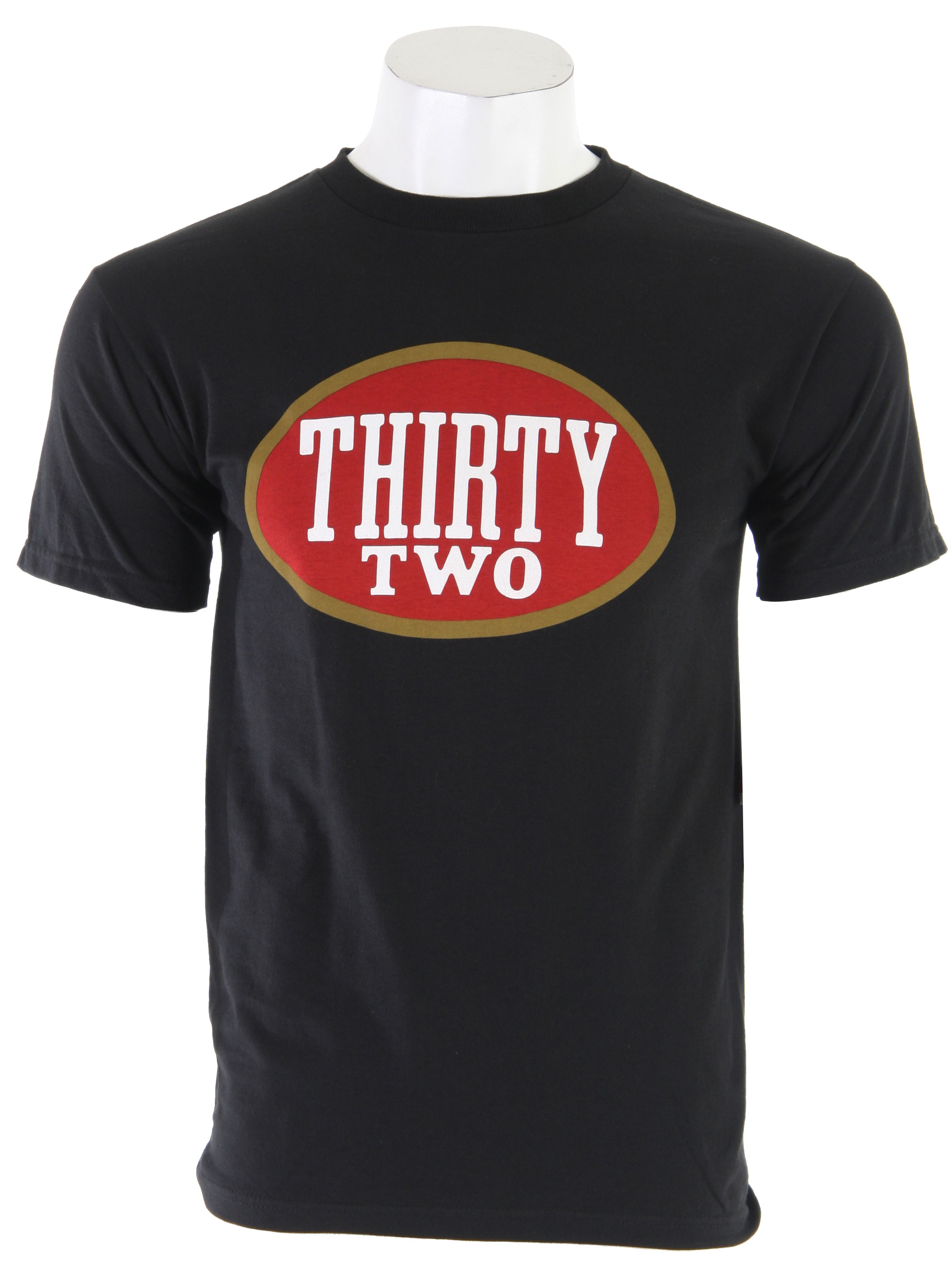So many times we leave the house in a t-shirt that shouldn't even be in our closets. It's time to look presentable by wearing the Thirty Two Bodega T-Shirt. This well made standard fitting shirt will sure make you look even better. Your skin will thank you when you put on this 100% cotton made short sleeve shirt. This means all cotton will keep you cooler in the summer and warmer on those chilly days. And wearing a number 32 is also great for folks to wear in their 40's.Key Features of the Thirty Two Bodega T-Shirt: Standard fit 100% cotton short sleeve shirt. - $19.95