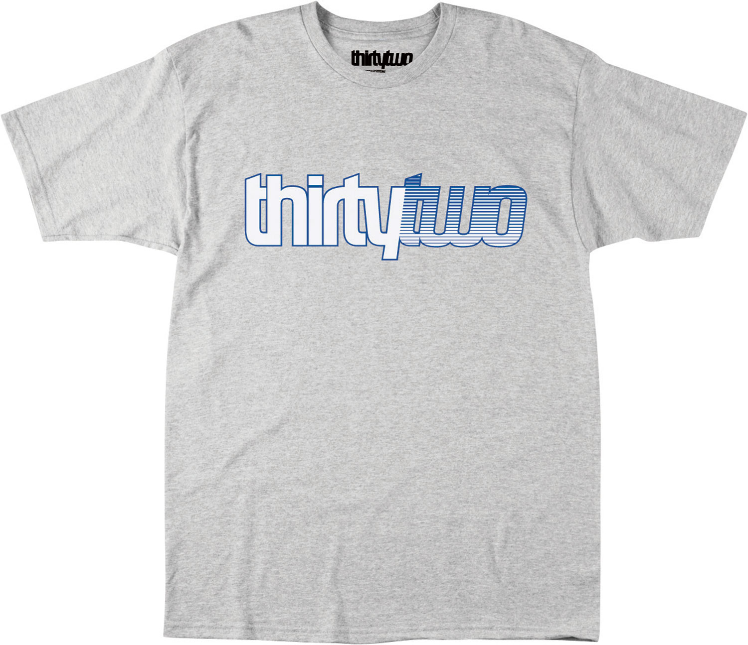 Key Features of the 32 - Thirty Two Doubletone T-Shirt: 100% Cotton Standard Fit Short Sleeve Shirt - $13.95