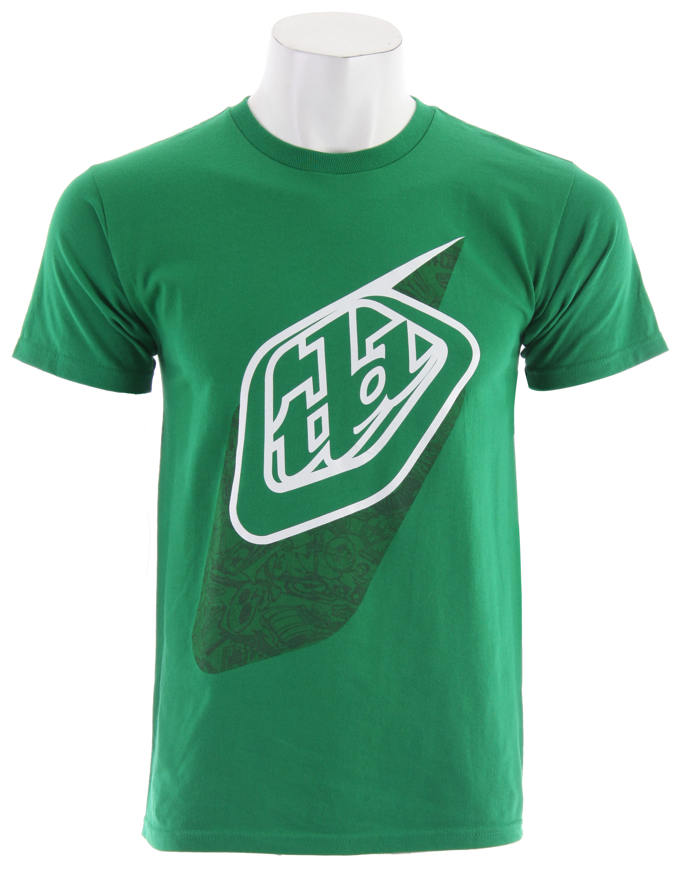 Key Features of The Troy Lee Designs Icon T-Shirt: Regular Fit Crew Neck Short Sleeve - $6.96