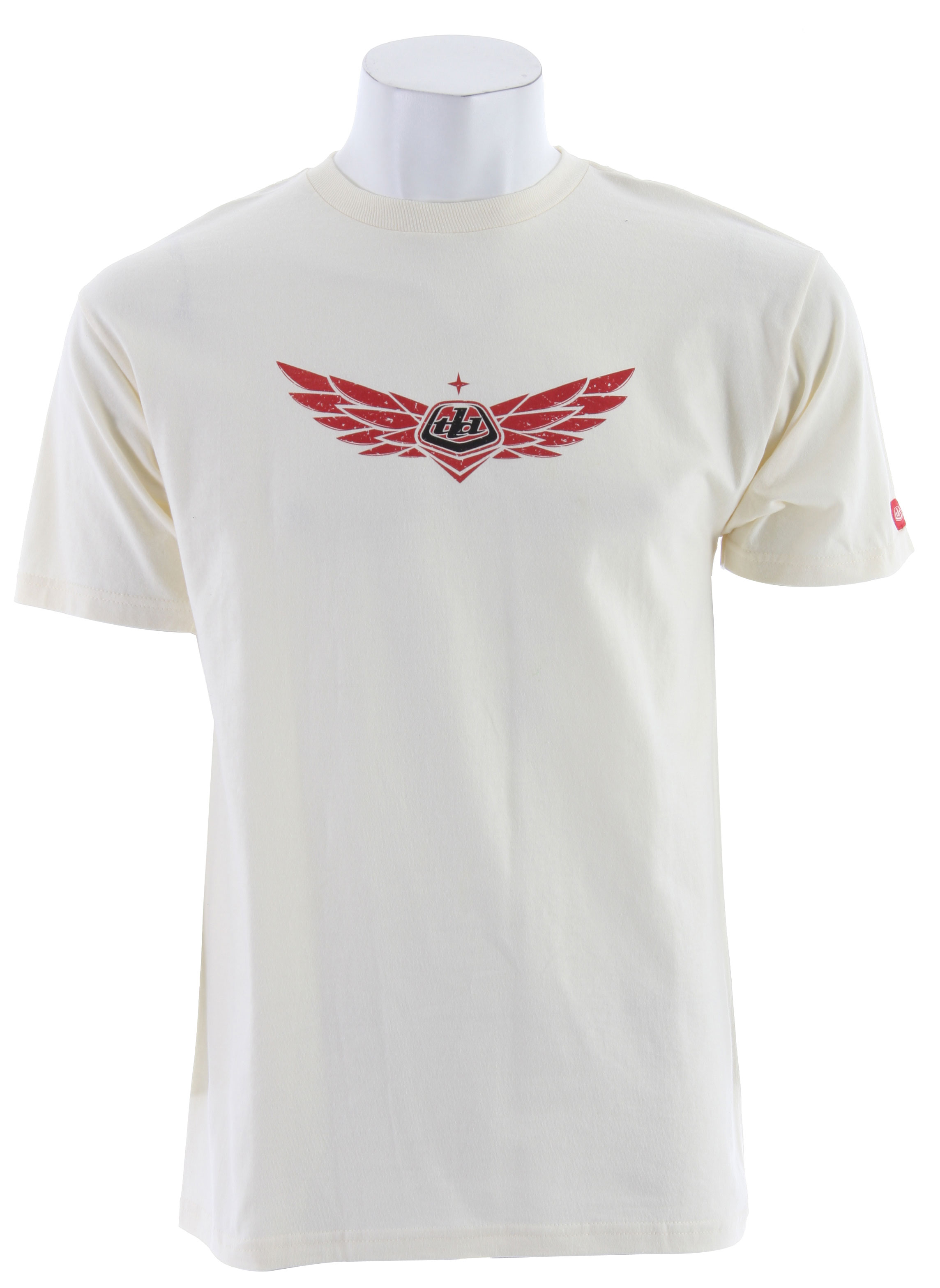 Key Features of The Troy Lee Designs So Cal T-Shirt: Regular Fit Crew Neck Short Sleeve - $6.96