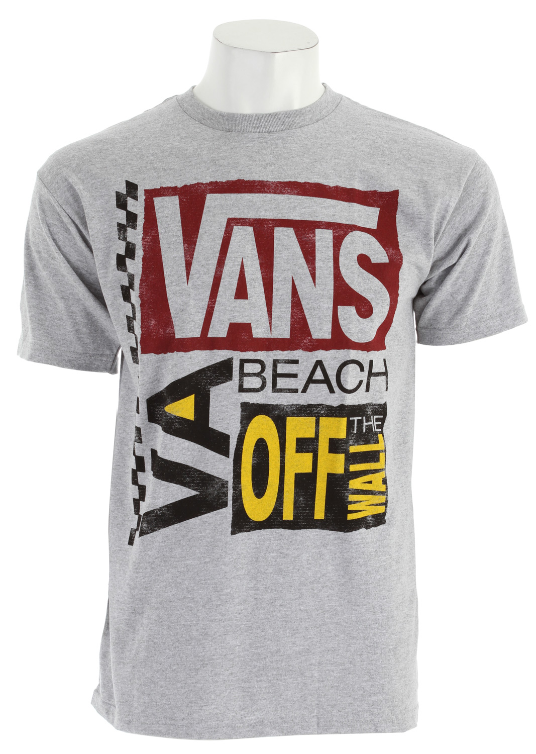 Skateboard Key Features of The Vans Futurepast VB T-Shirt: Regular Fit Crew Neck Short Sleeve 100% Cotton 30/1 Custom Fit 4.5 oz. combed ringspun cotton tee shirt Front chest screen print with water-based or softhand plastisol ink treatment Clip label on back hem - $18.95